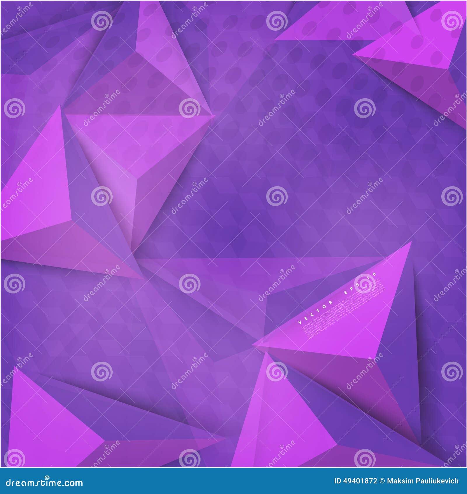 Download Vektorhintergrundzusammenfassungs-Polygondreieck Stock Abbildung - Illustration von kohle, element: 49401872