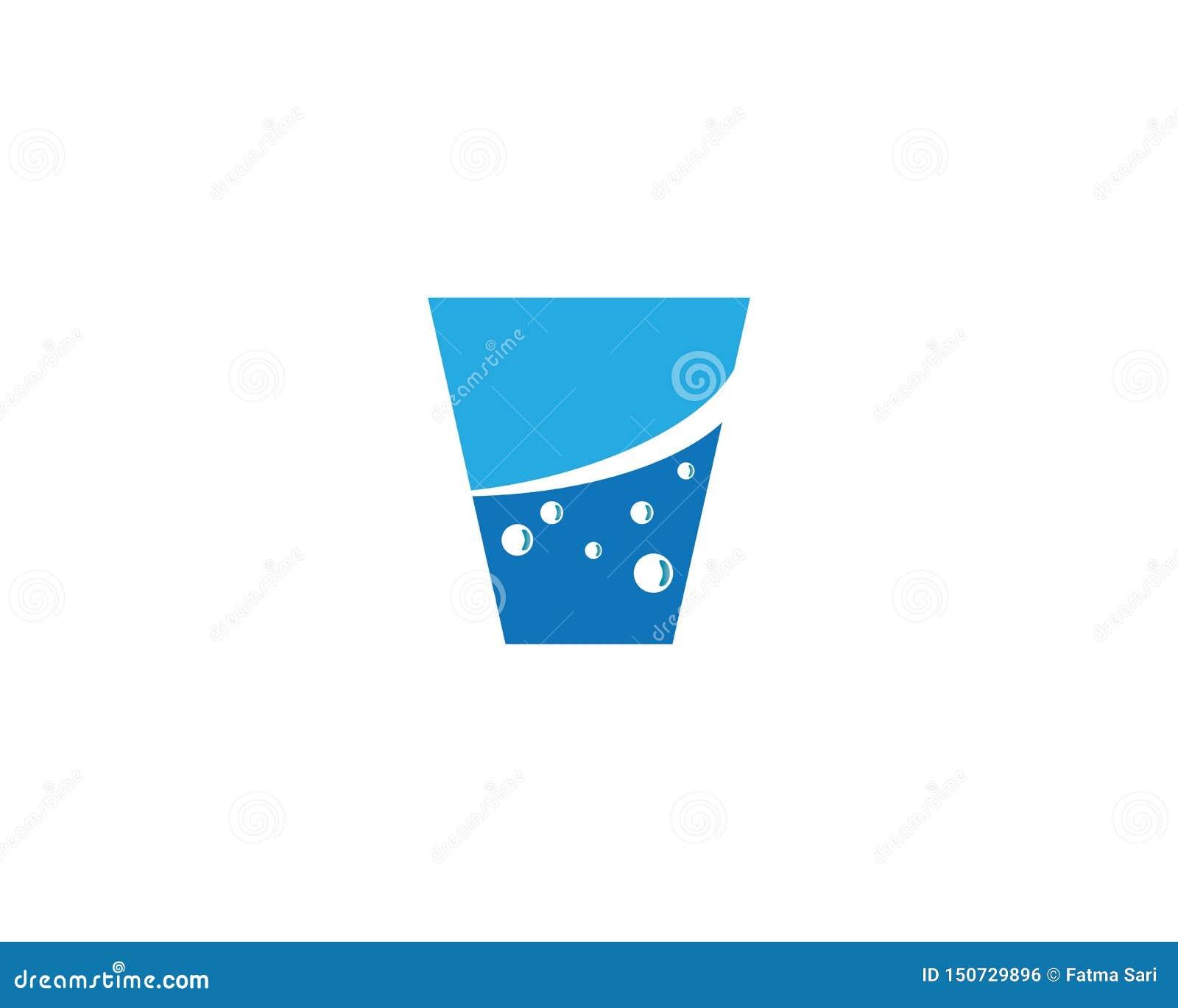 Vektorillustration för dricka exponeringsglas