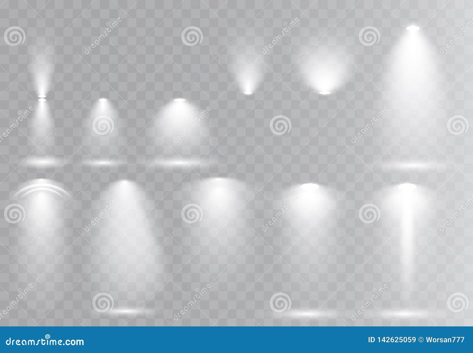 Vektorljuskällor, konsertbelysning, etappstrålstrålkastare ställde in prålig effekt för lins