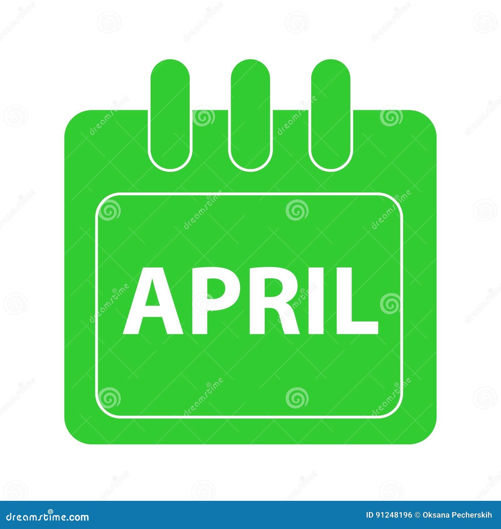 Vektormånad på kalender