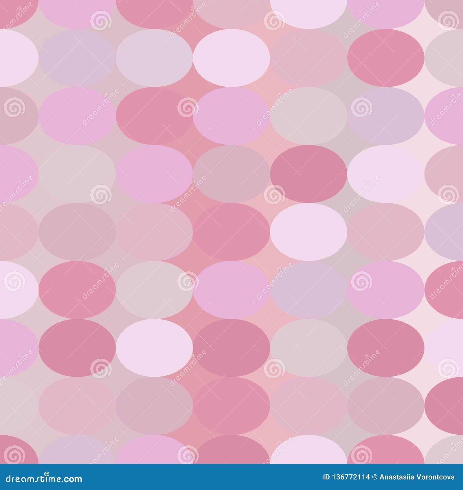 Vektorrosamusterzusammenfassungskreisform-Valentinsgrußtag