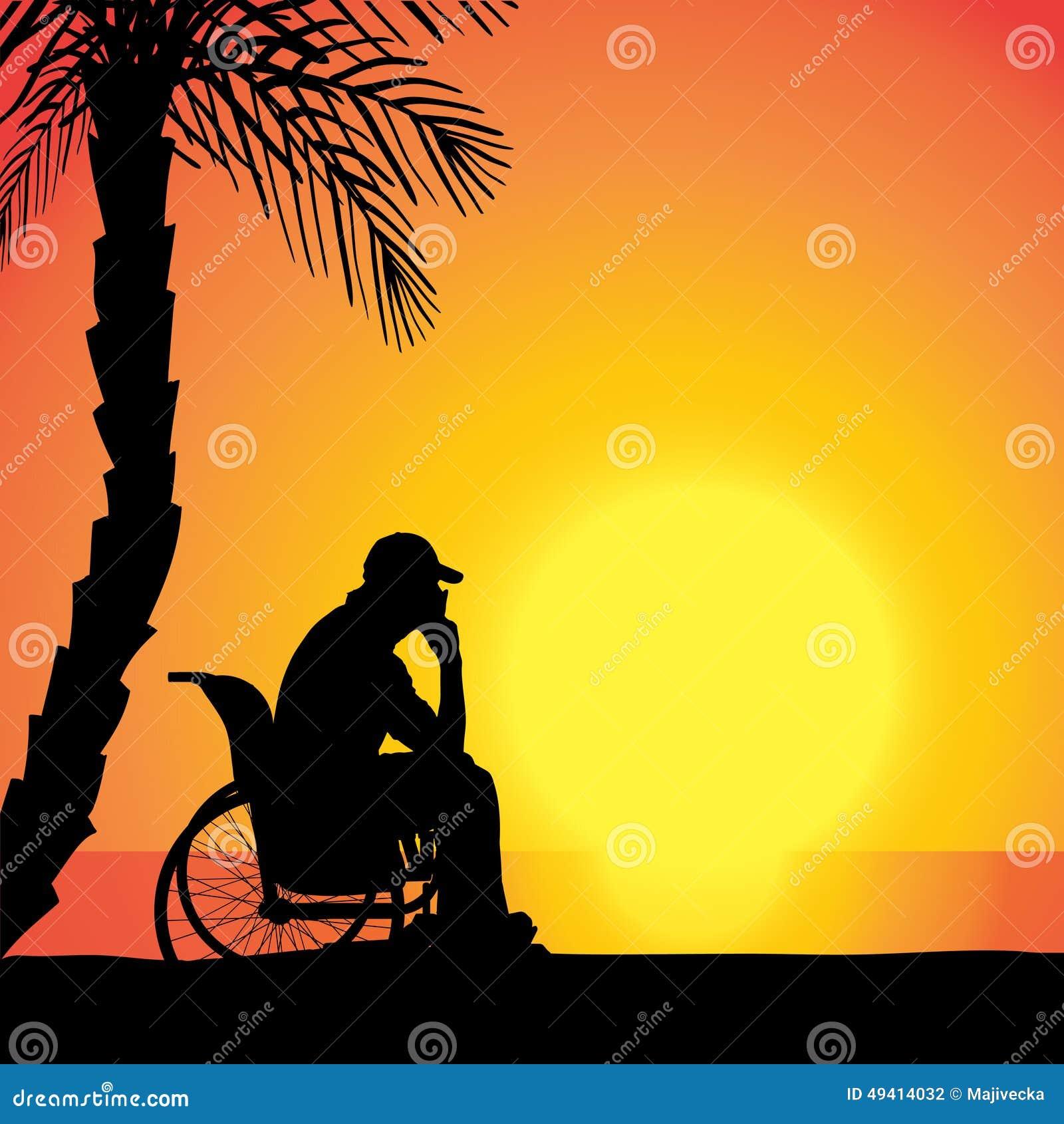 Download Vektorschattenbild Des Mannes Stock Abbildung - Illustration von unterstützung, sonne: 49414032