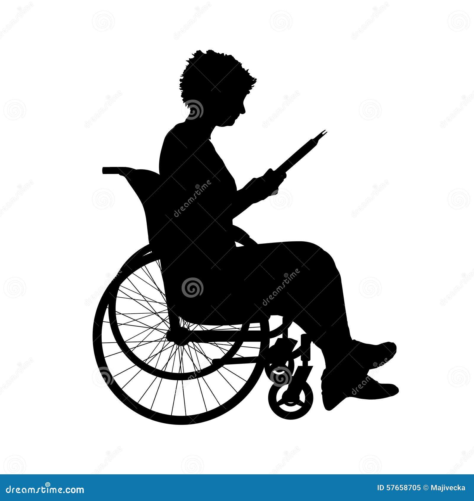 Vektorschattenbild einer Frau