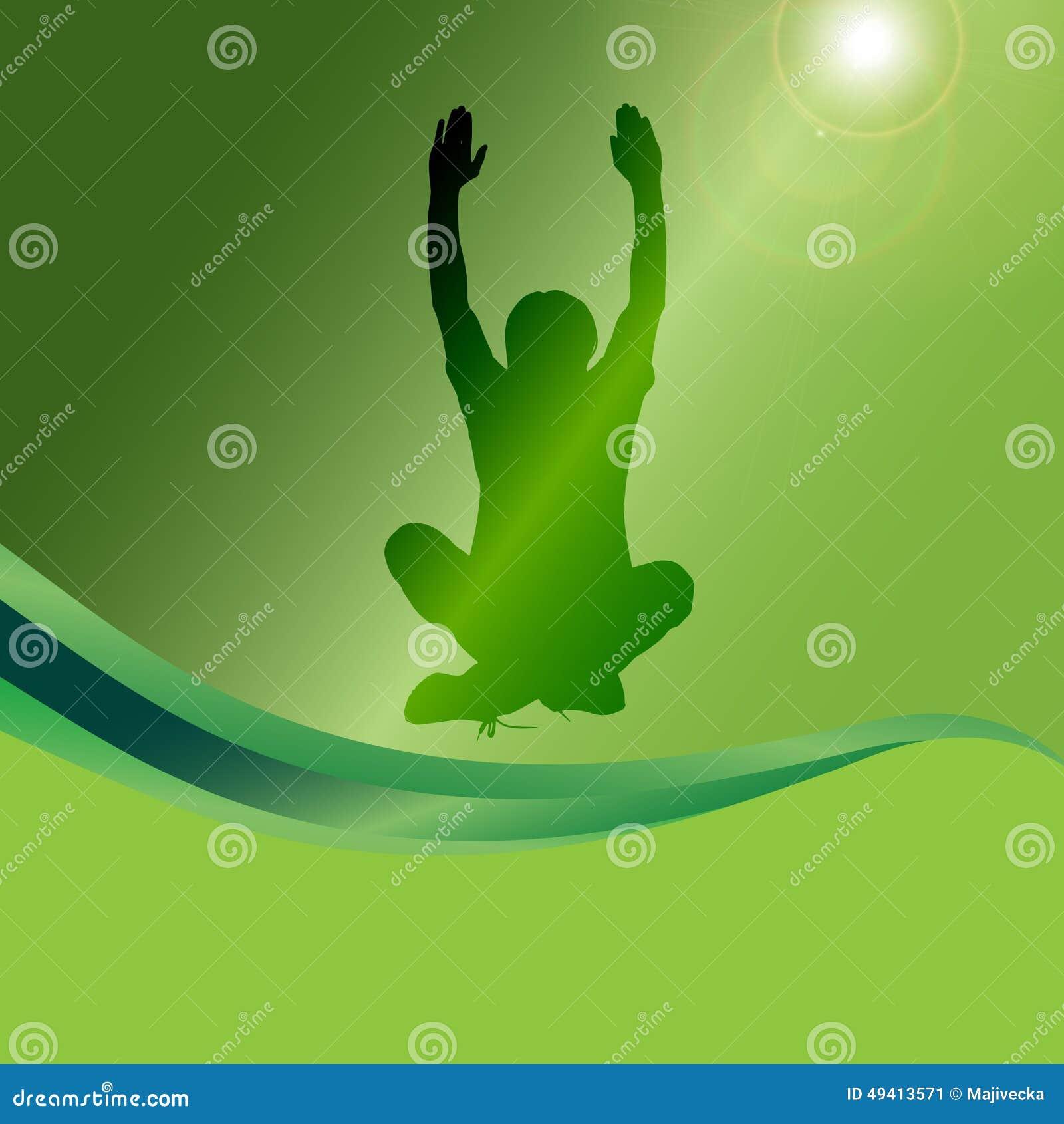 Download Vektorschattenbild Eines Mannes Vektor Abbildung - Illustration von gesund, relax: 49413571