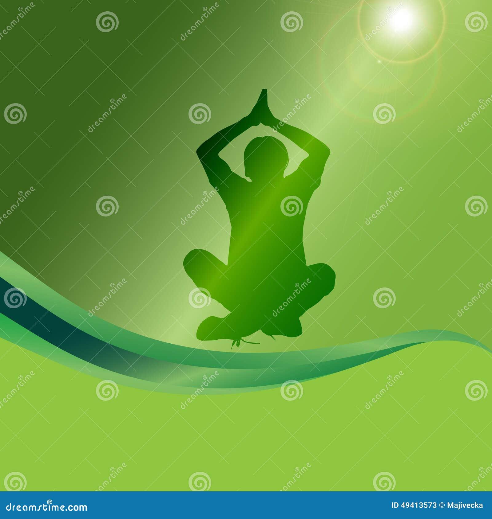 Download Vektorschattenbild Eines Mannes Vektor Abbildung - Illustration von frau, training: 49413573