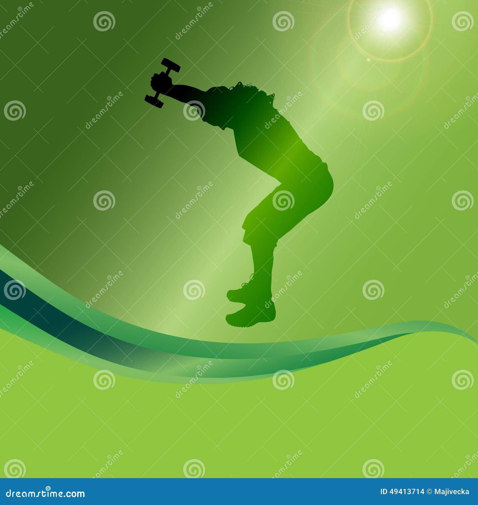 Download Vektorschattenbild Eines Mannes Vektor Abbildung - Illustration von sport, mann: 49413714