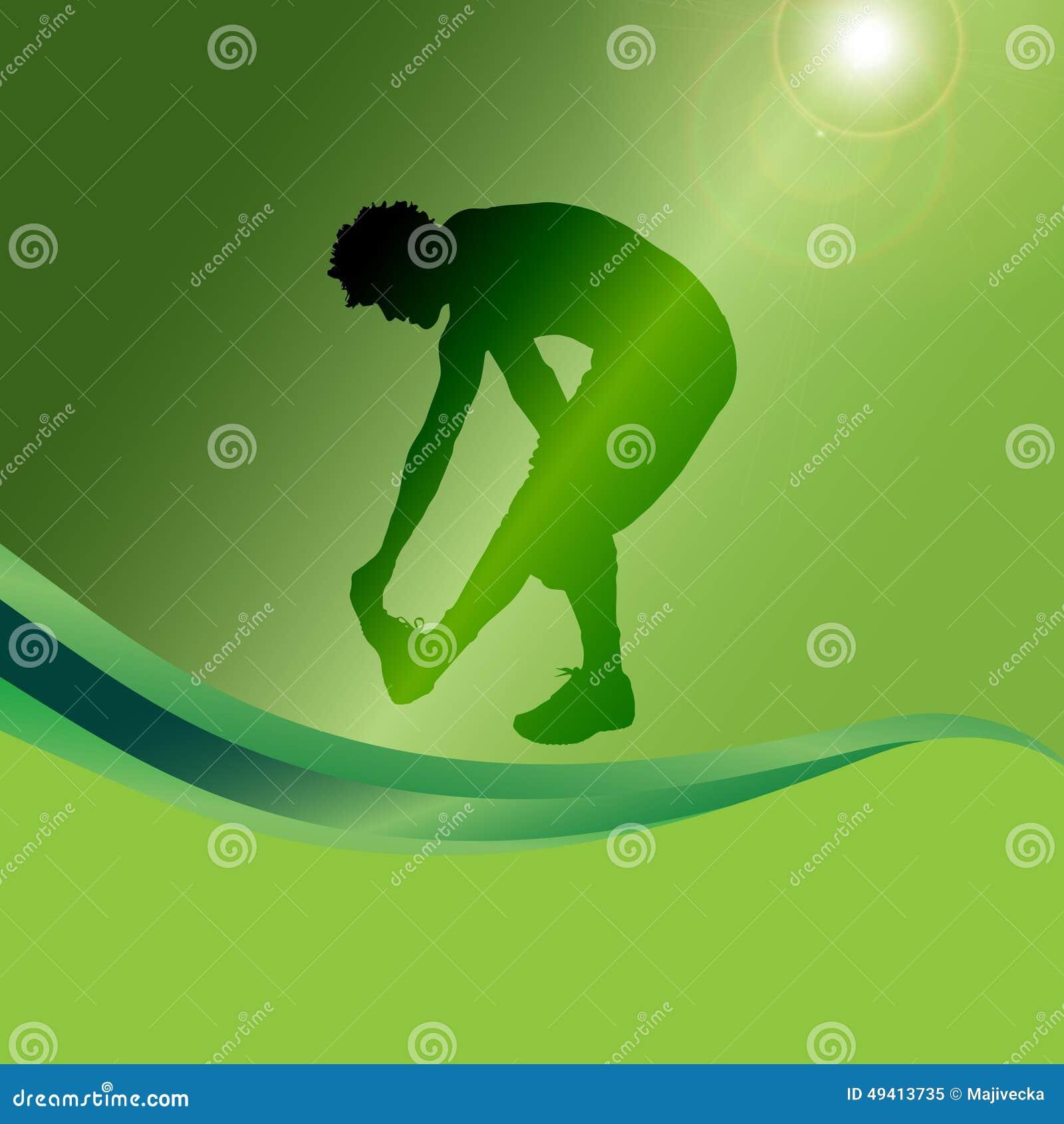 Download Vektorschattenbild Eines Mannes Vektor Abbildung - Illustration von erwachsener, sport: 49413735