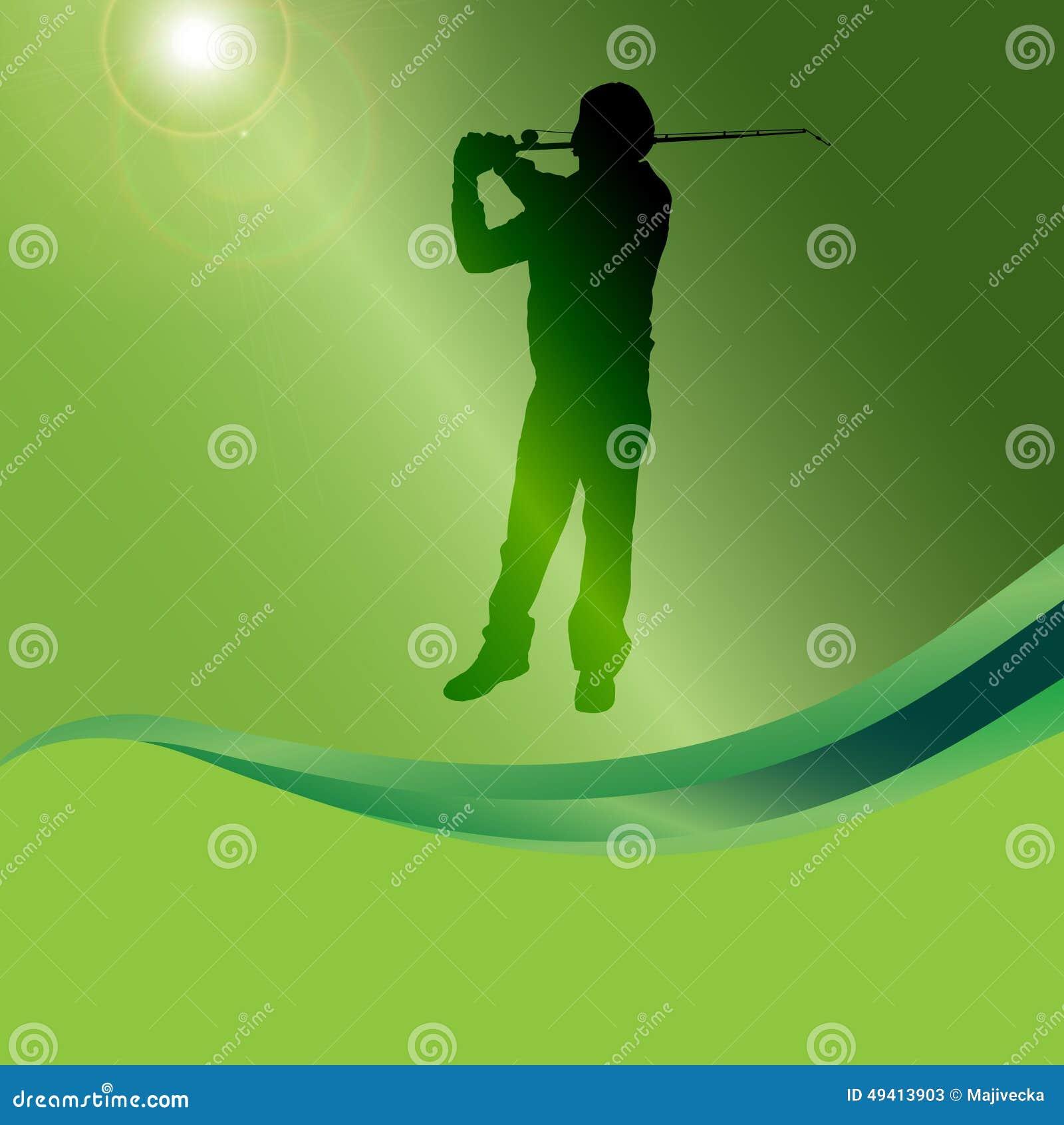 Download Vektorschattenbild Eines Mannes, Der Fischt Vektor Abbildung - Illustration von erwachsener, fischer: 49413903