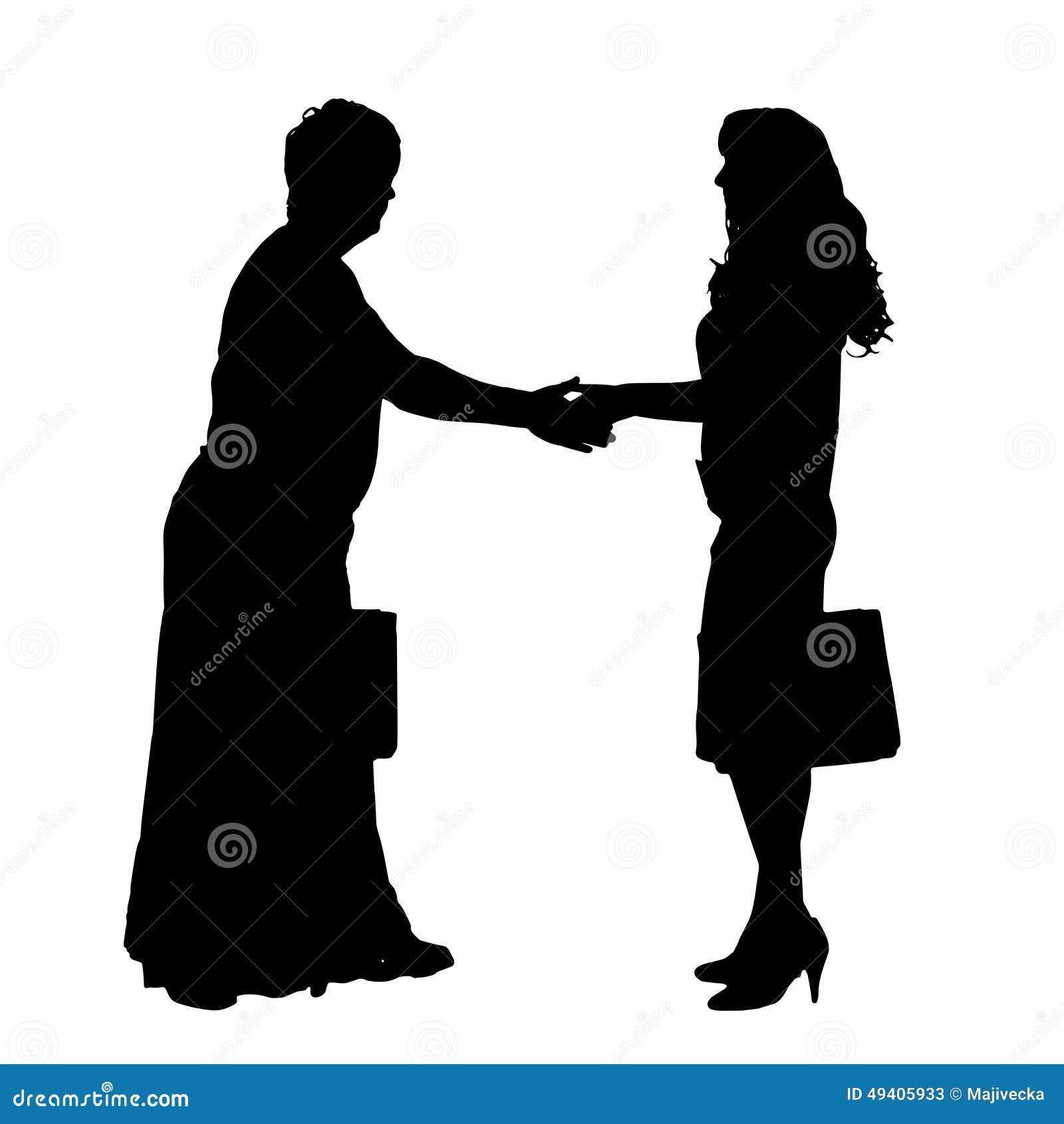Download Vektorschattenbild Eines Paares Vektor Abbildung - Illustration von gesund, manager: 49405933