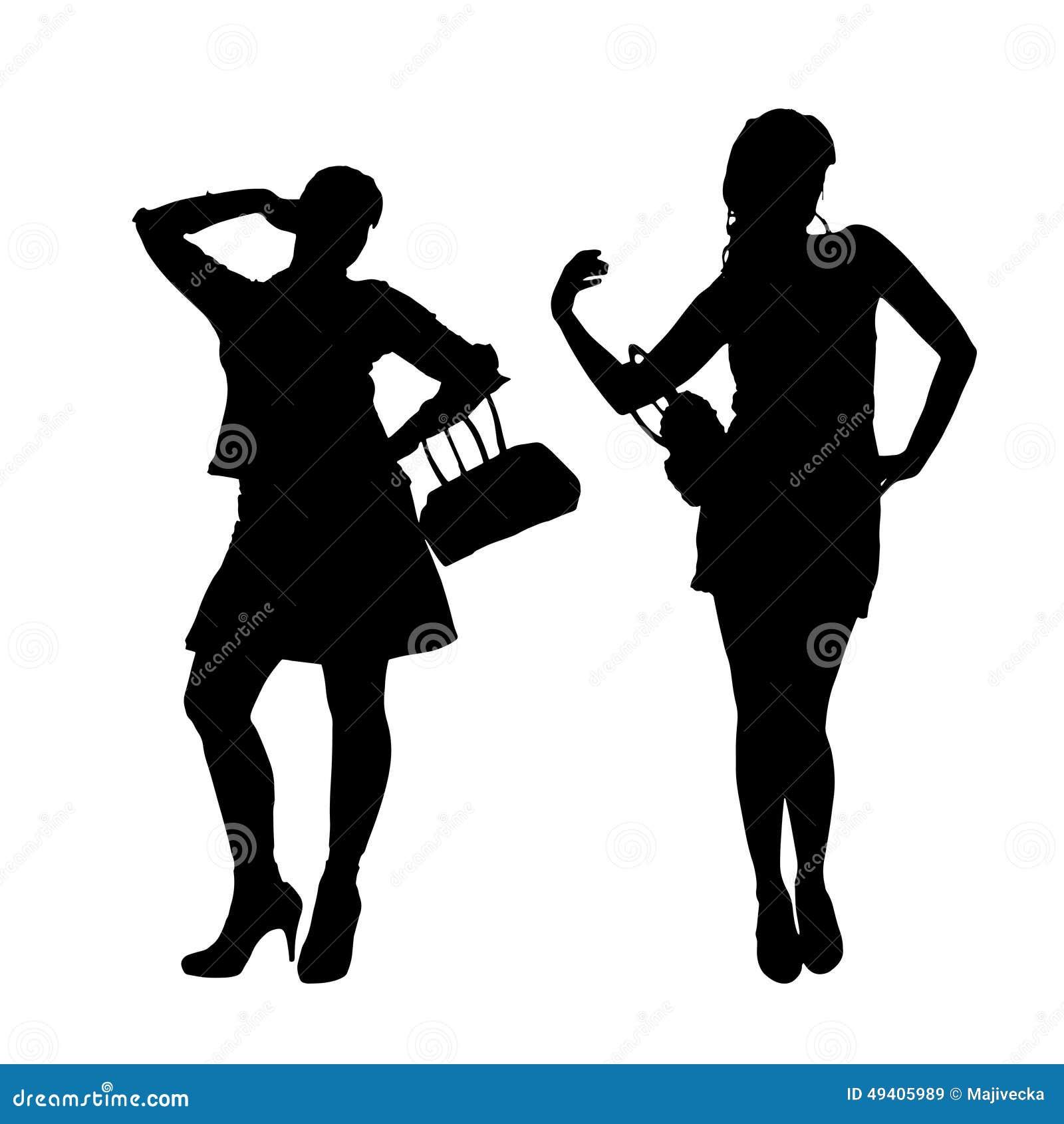 Download Vektorschattenbild Eines Paares Vektor Abbildung - Illustration von nachher, lebensstil: 49405989