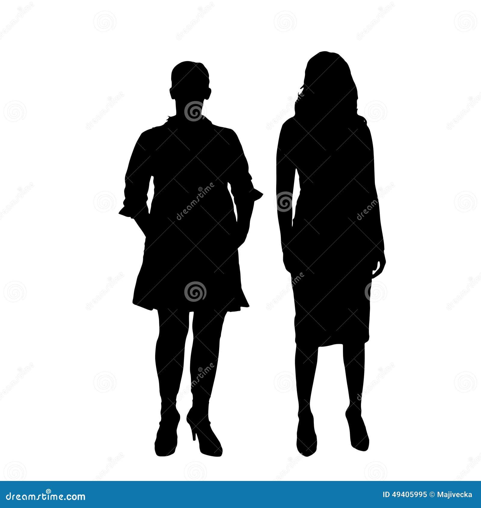 Download Vektorschattenbild Eines Paares Vektor Abbildung - Illustration von person, schönheit: 49405995