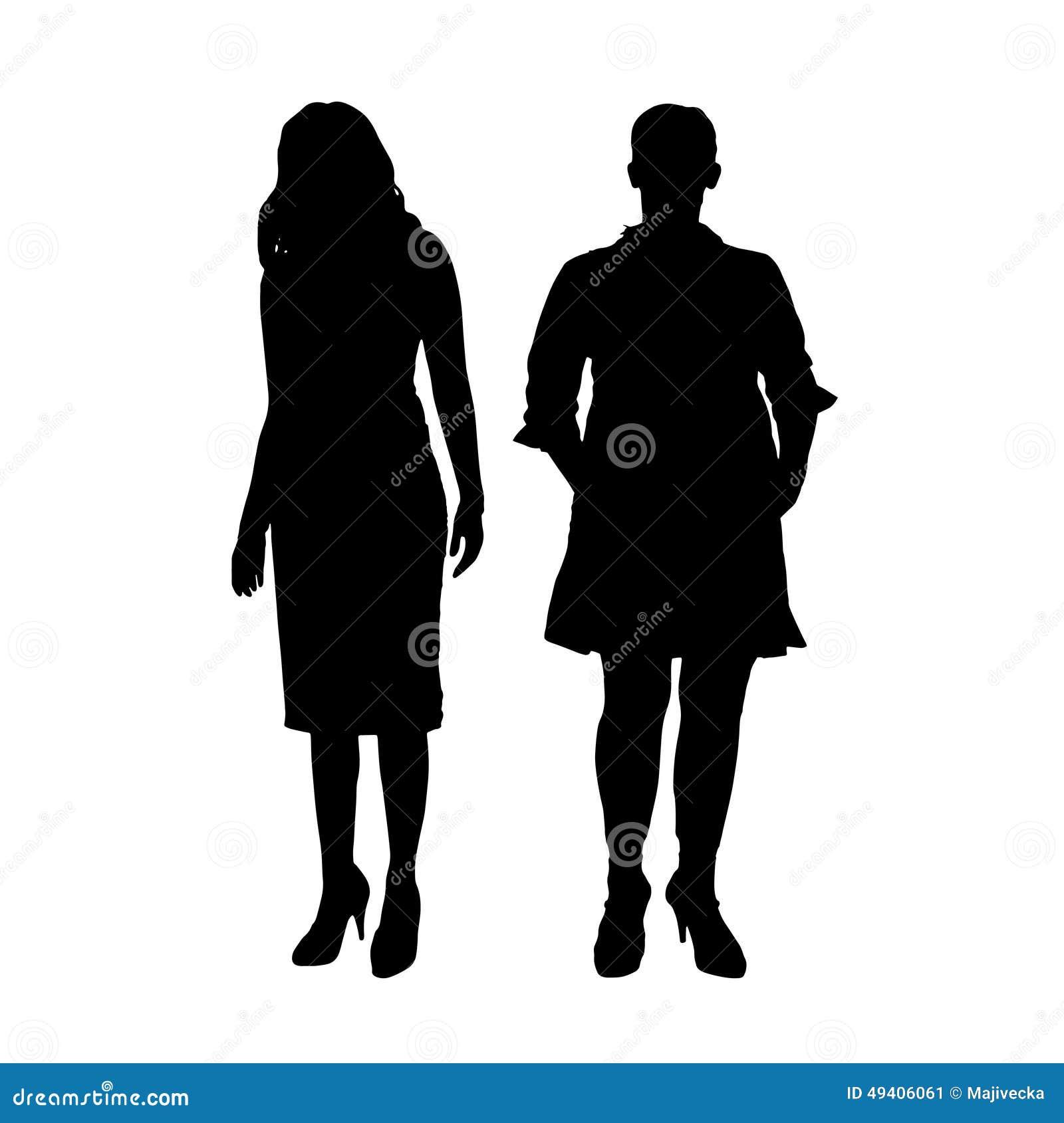 Download Vektorschattenbild Eines Paares Vektor Abbildung - Illustration von karosserie, diät: 49406061