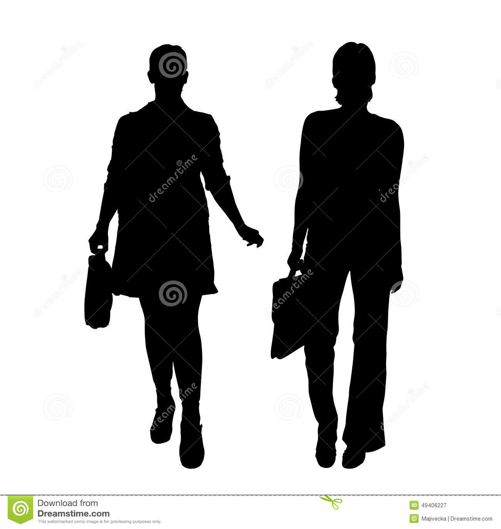 Download Vektorschattenbild Eines Paares Vektor Abbildung - Illustration von freunde, groß: 49406227