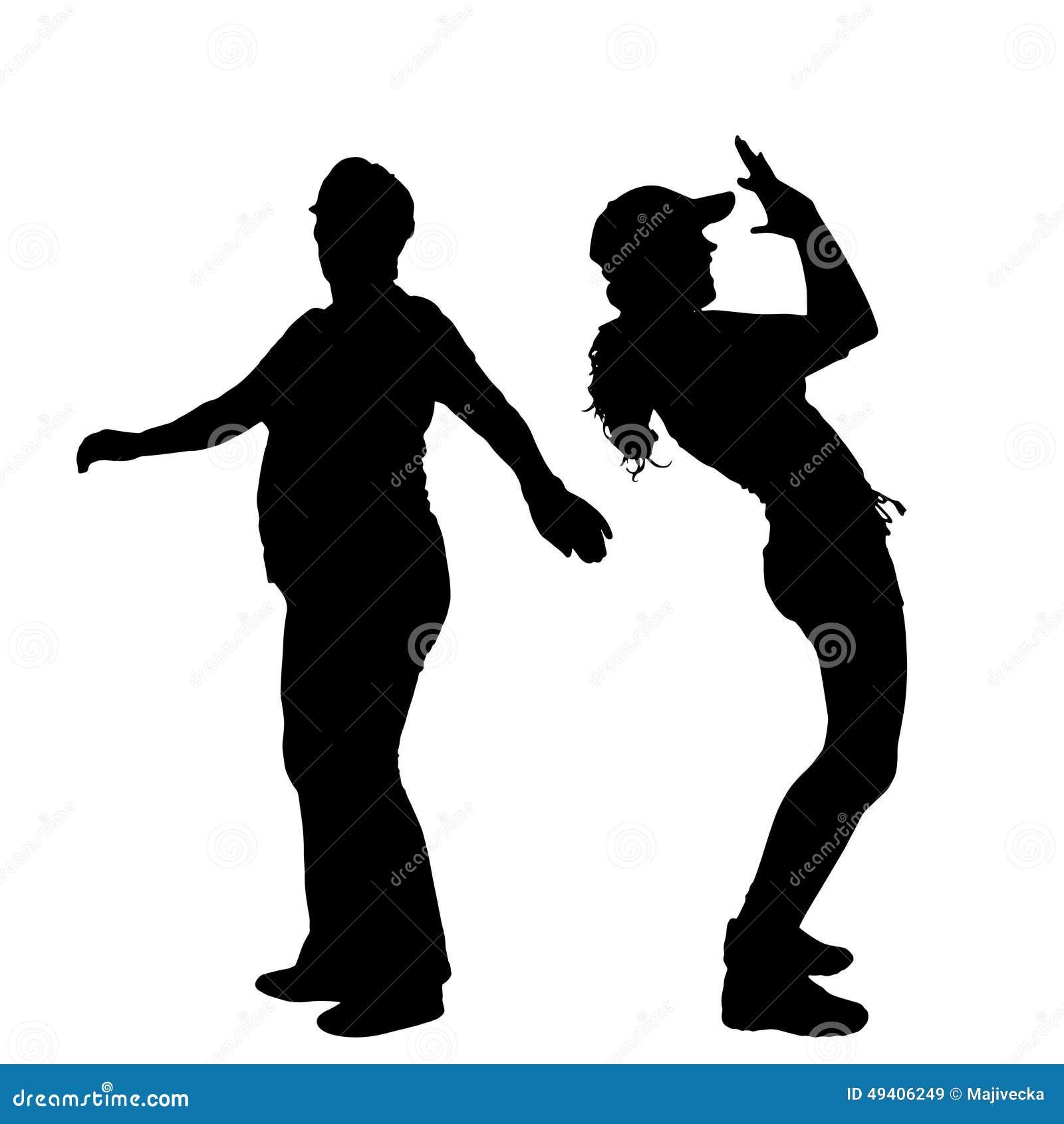 Download Vektorschattenbild Eines Paares Vektor Abbildung - Illustration von diät, hintergrund: 49406249