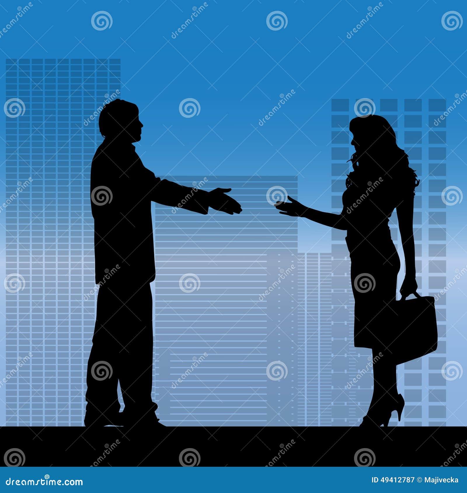 Download Vektorschattenbild Von Geschäftsleute Vektor Abbildung - Illustration von masse, sitzung: 49412787