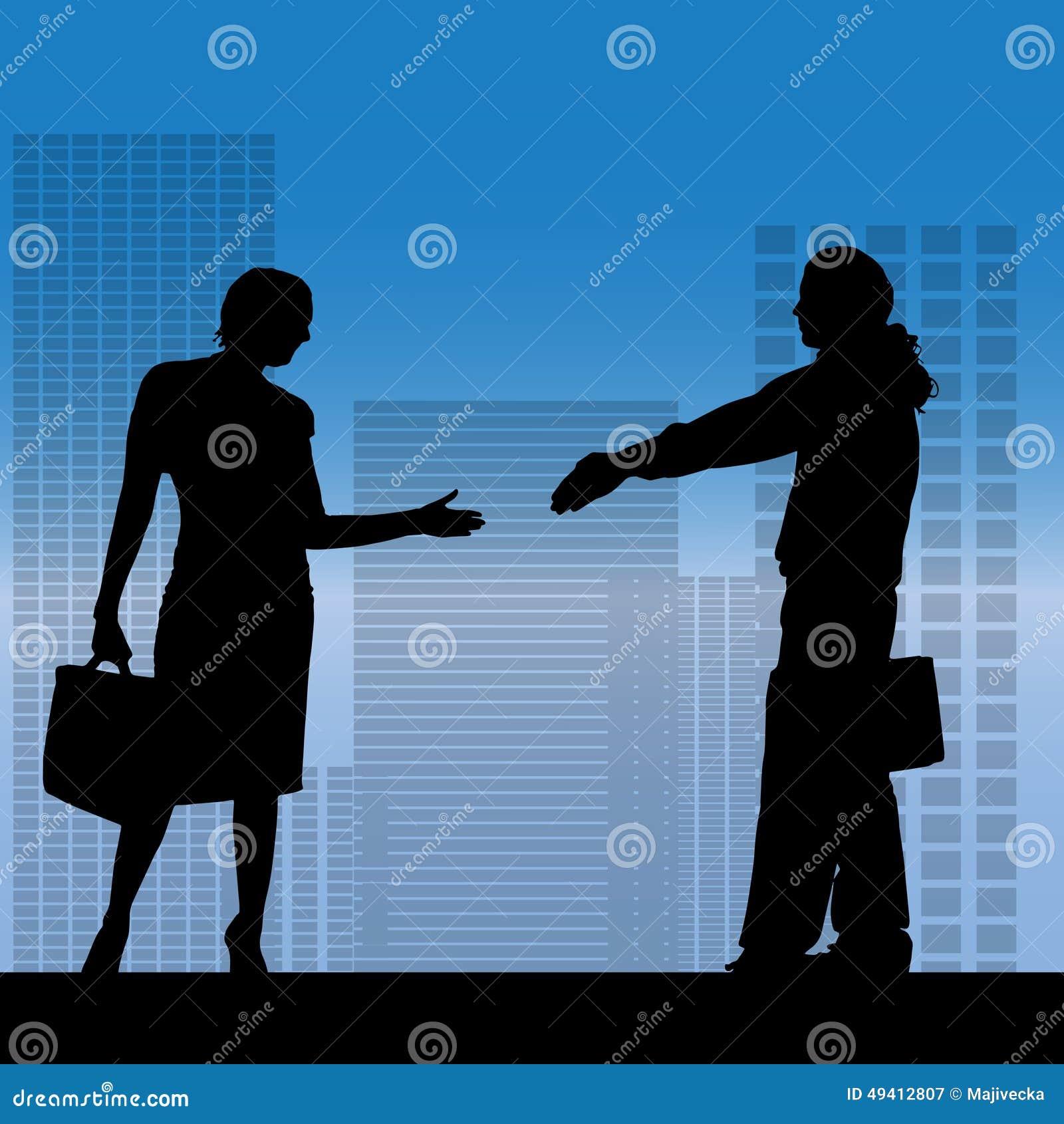 Download Vektorschattenbild Von Geschäftsleute Vektor Abbildung - Illustration von auslegung, sitzung: 49412807