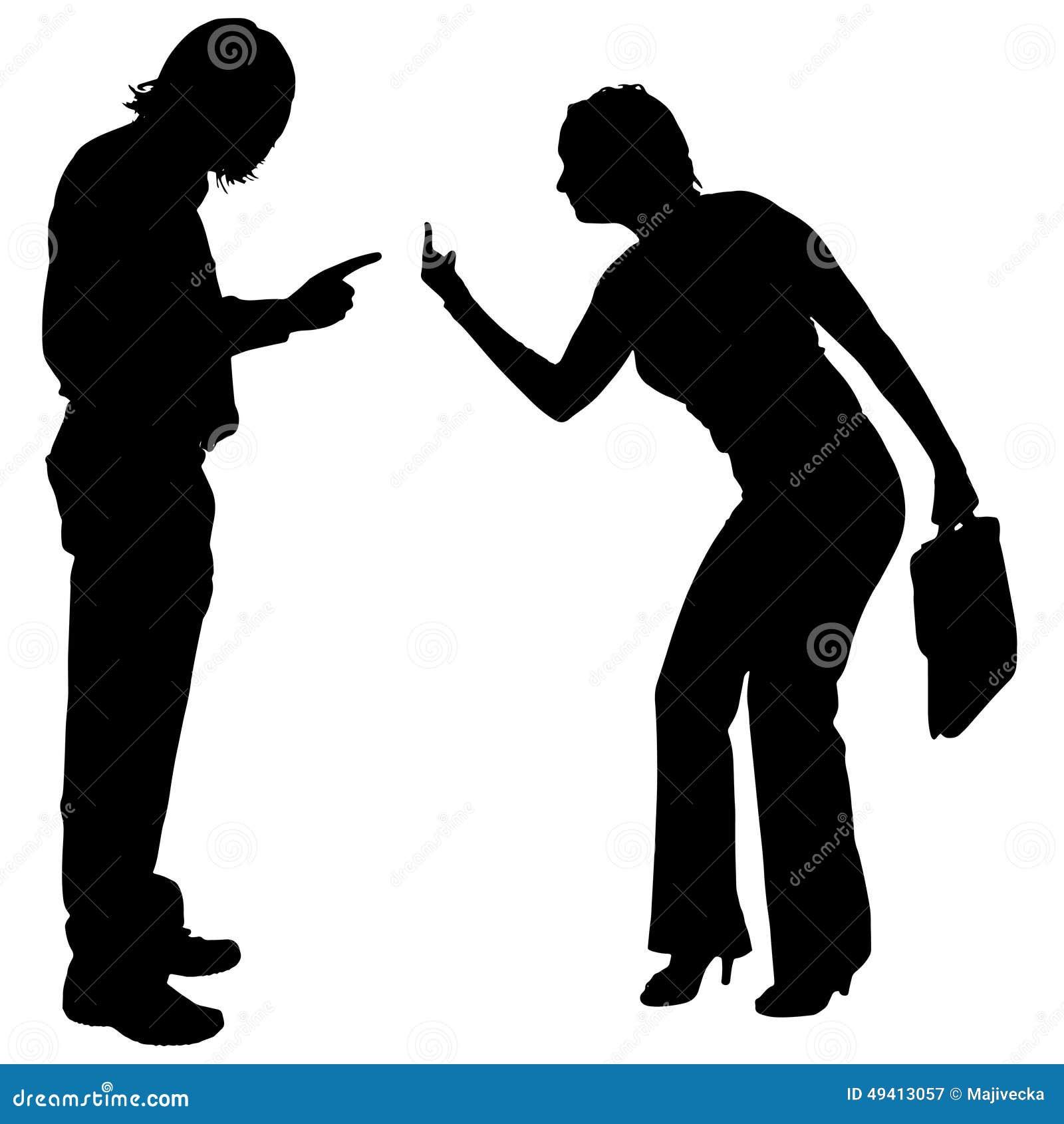 Download Vektorschattenbild Von Paaren Vektor Abbildung - Illustration von geschäft, mann: 49413057
