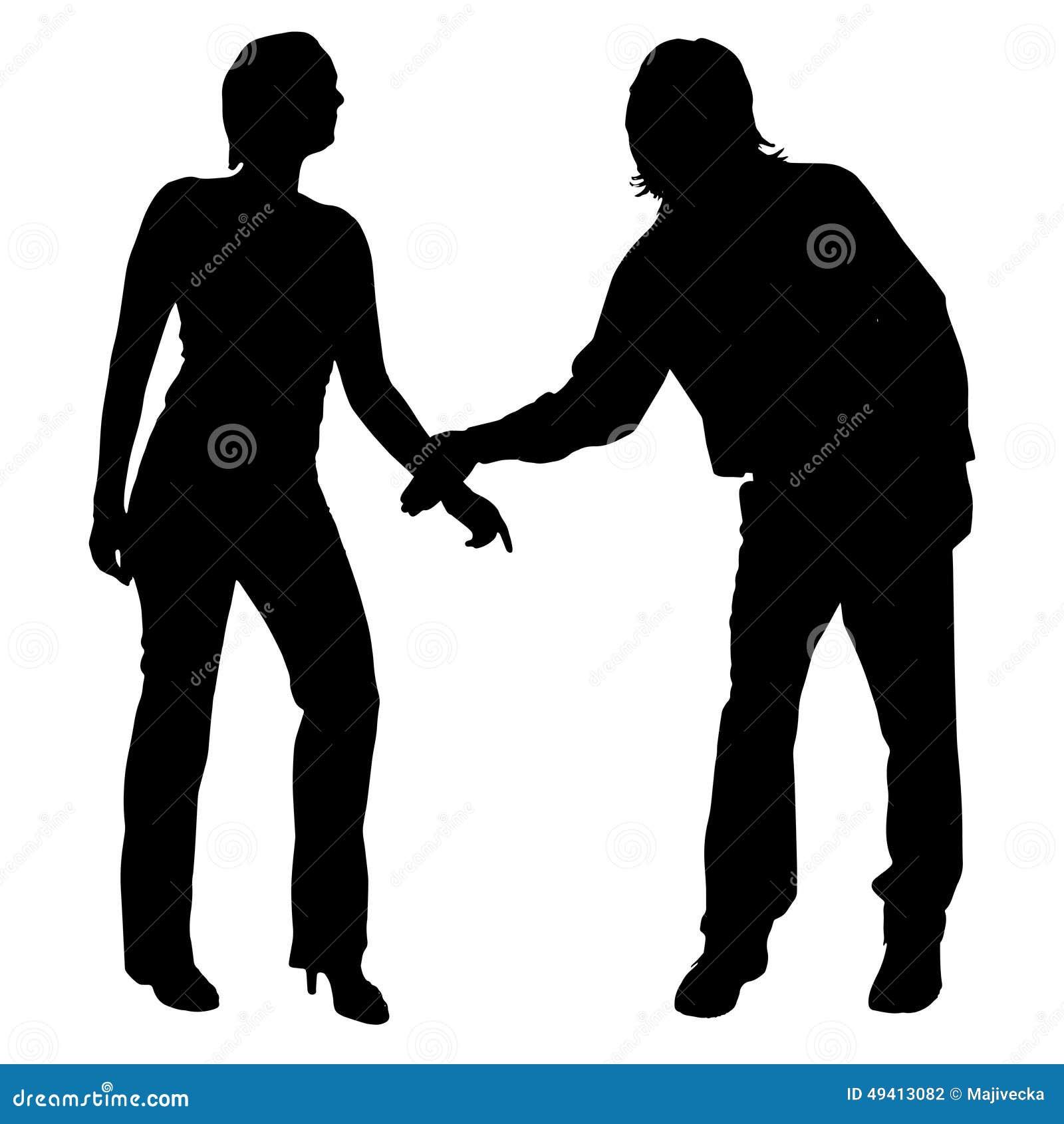 Download Vektorschattenbild Von Paaren Vektor Abbildung - Illustration von paare, abbildung: 49413082