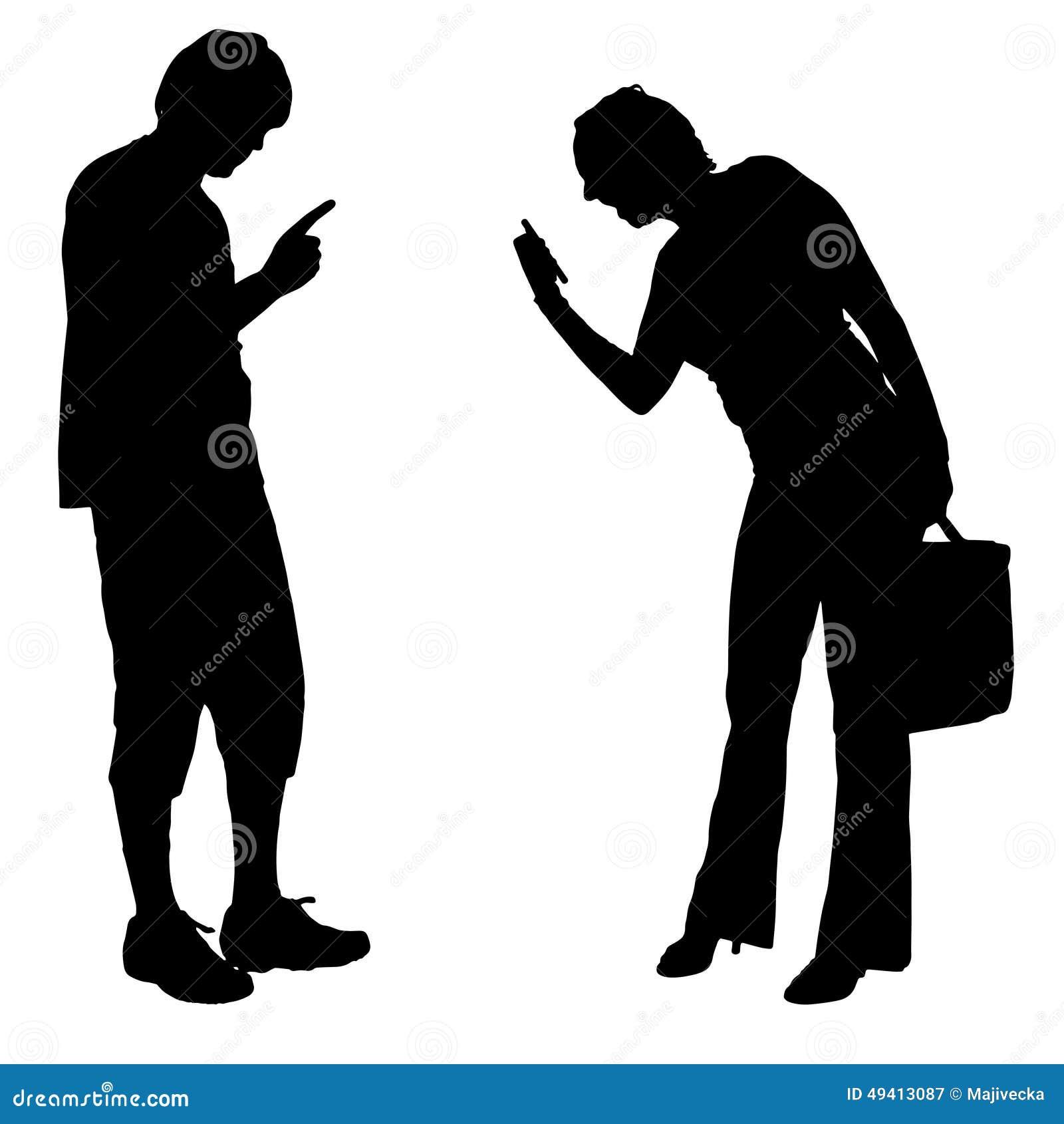 Download Vektorschattenbild Von Paaren Vektor Abbildung - Illustration von aufruf, paare: 49413087