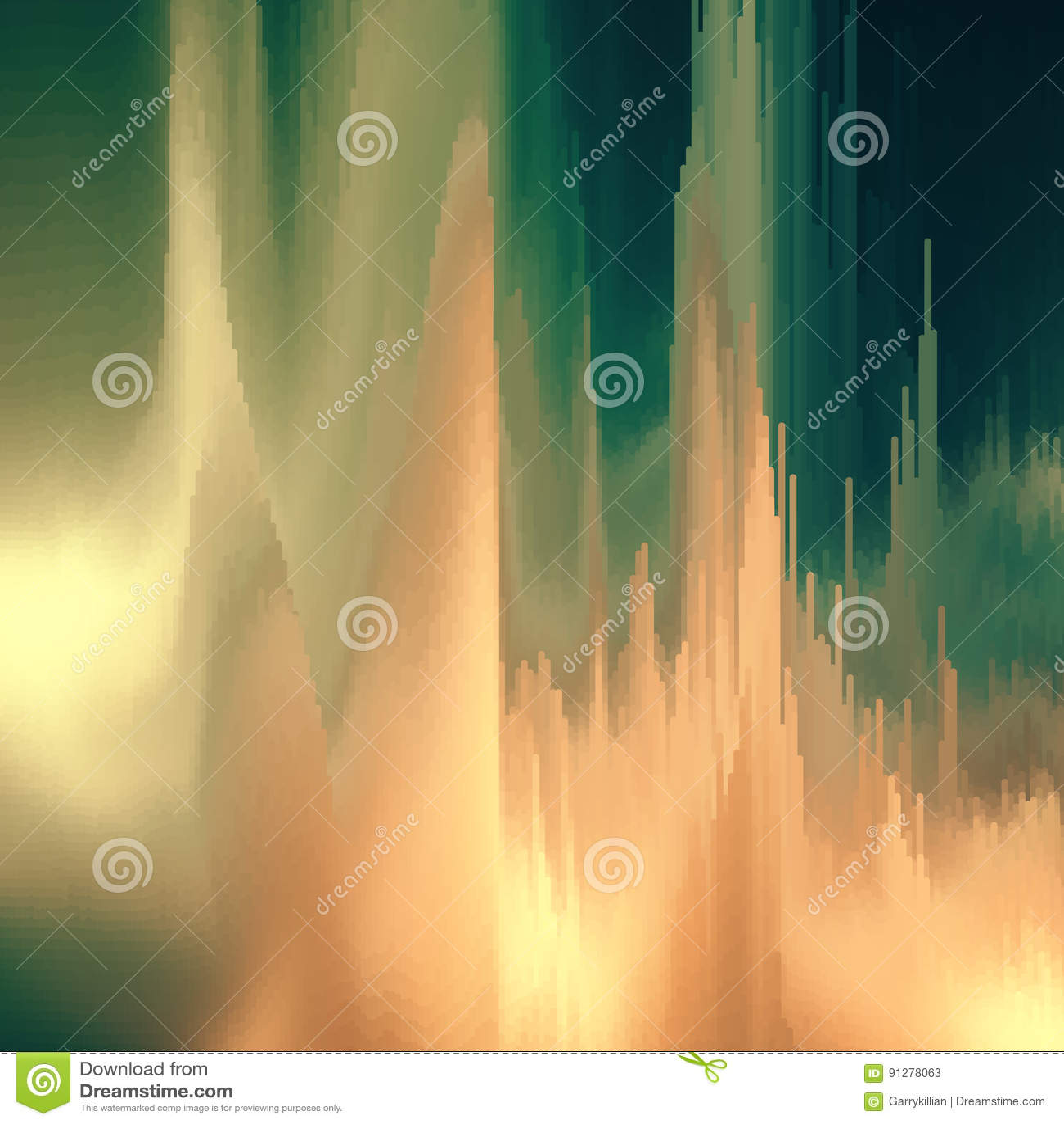 Vektortekniskt felbakgrund Distorsion för data för Digital bild Färgrik abstrakt bakgrund för dina designer