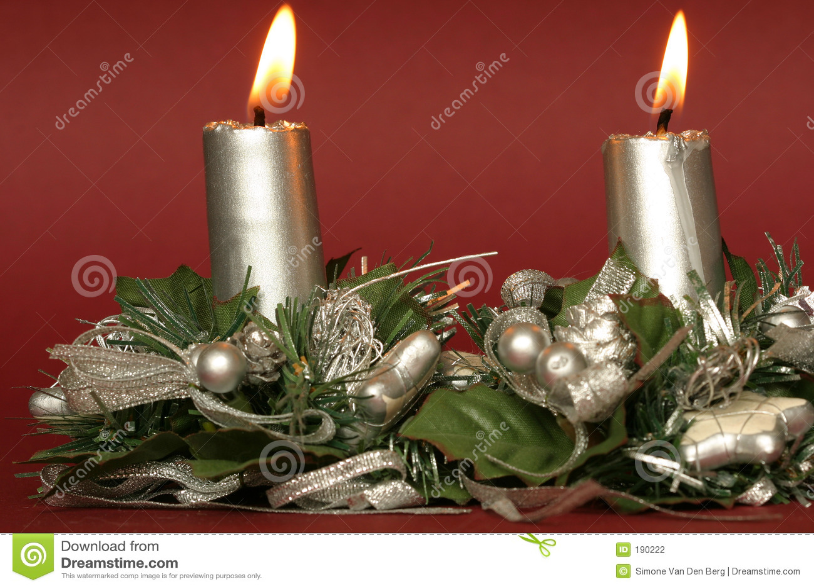 Velas de la Navidad