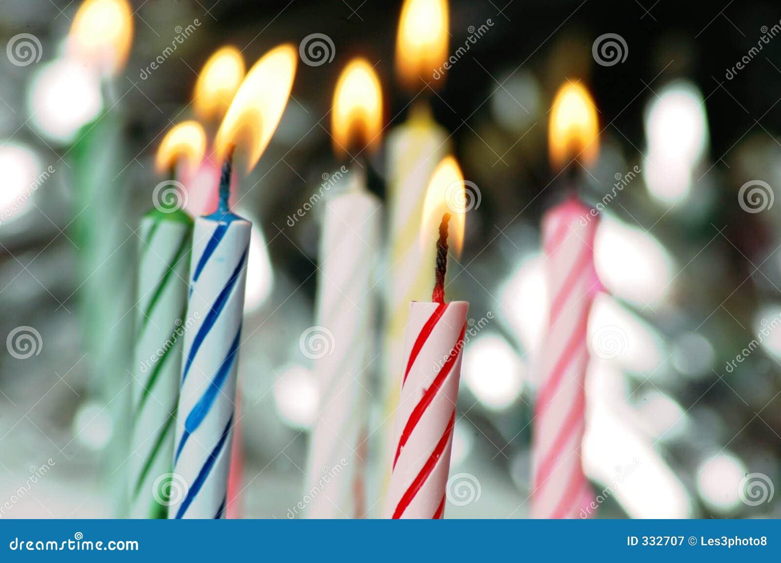 Velas del cumpleaños