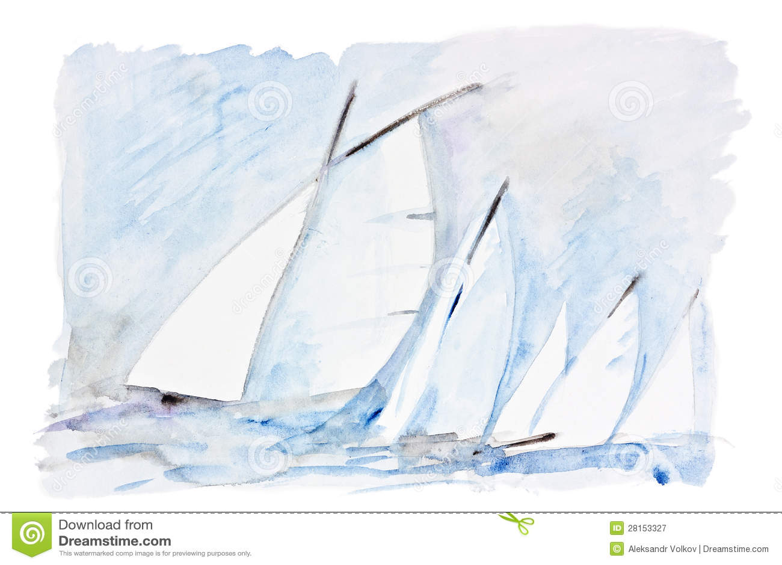 Velas no mar