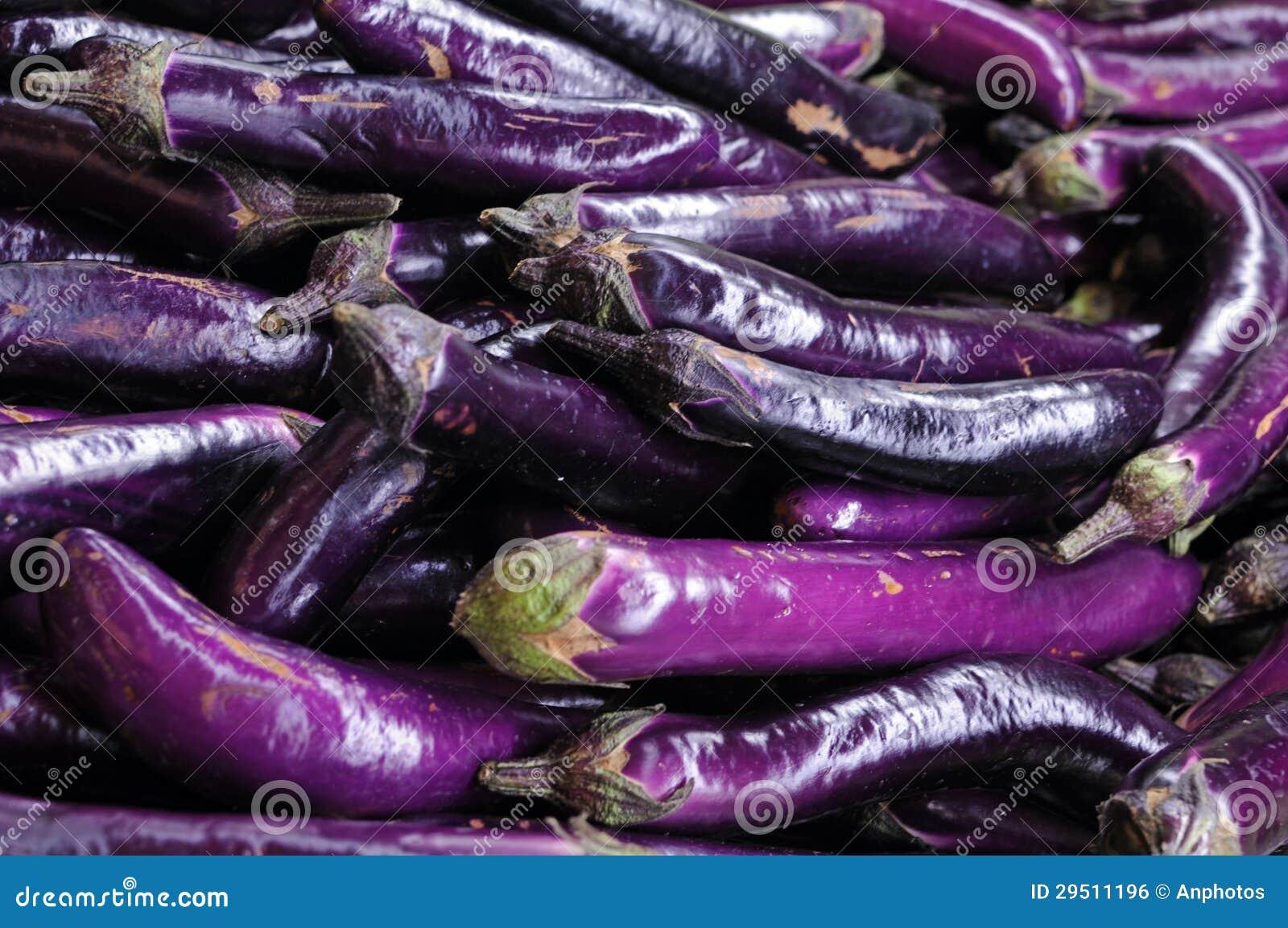 Vele aubergines