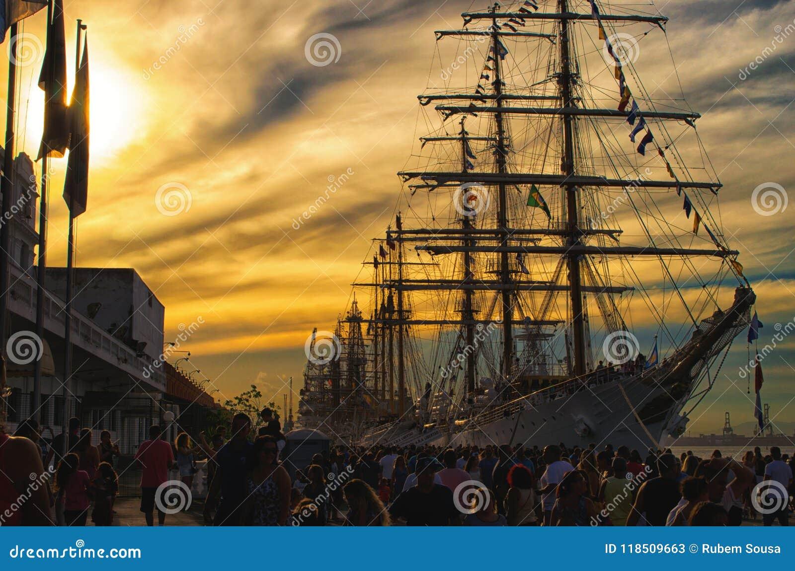 Velero en el embarcadero - Rio de Janeiro Brasil   Rubem Sousa Foros el Box®