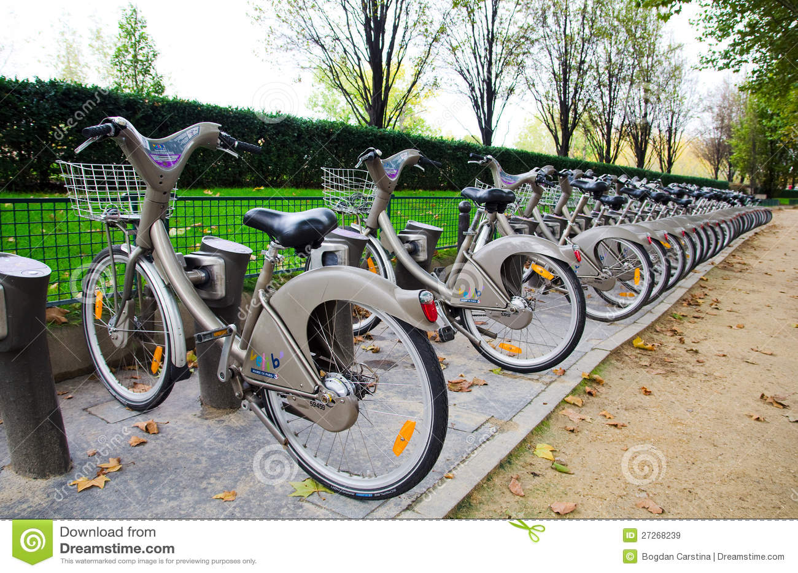 velib bicycle rental system paris editorial stock image image 27268239. Black Bedroom Furniture Sets. Home Design Ideas