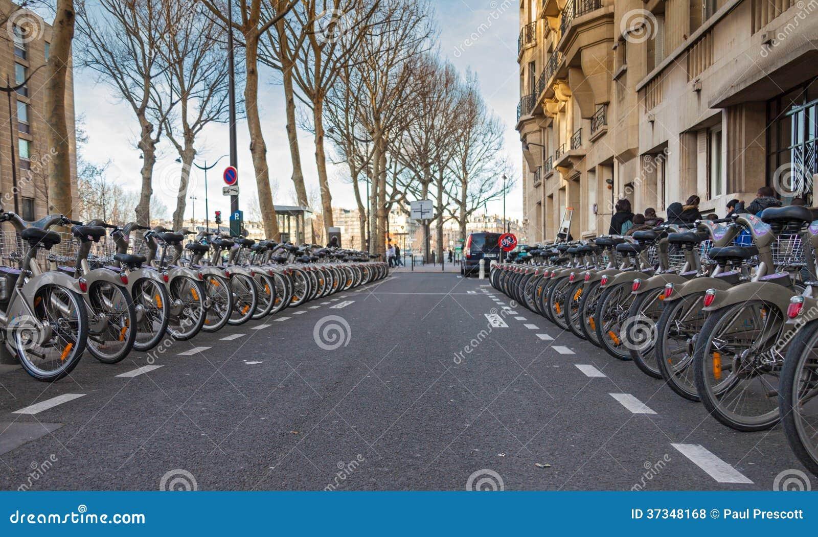Velib cyklar