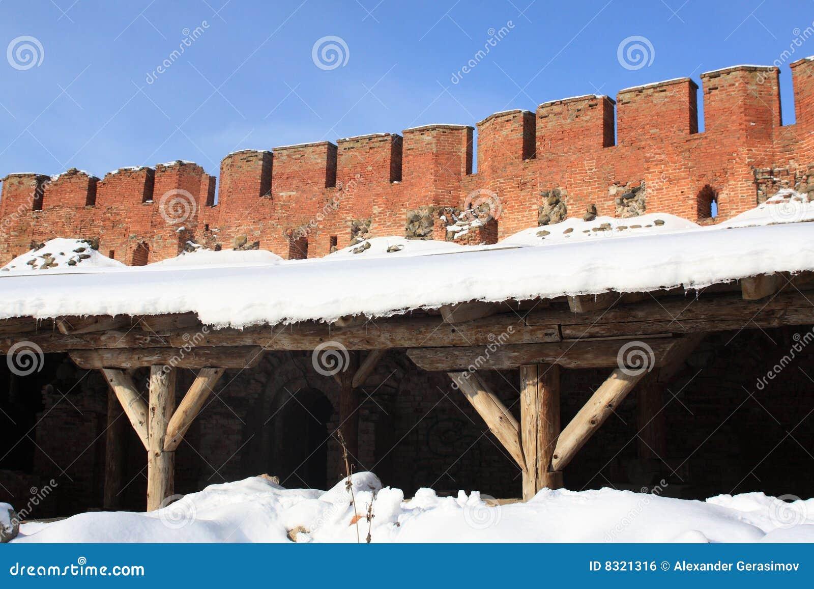 Veliky τοίχος του Κρεμλίνου novg