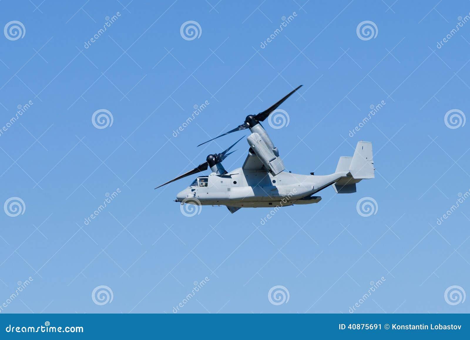Osprey Elicottero : Velivoli del osprey v fotografia stock immagine