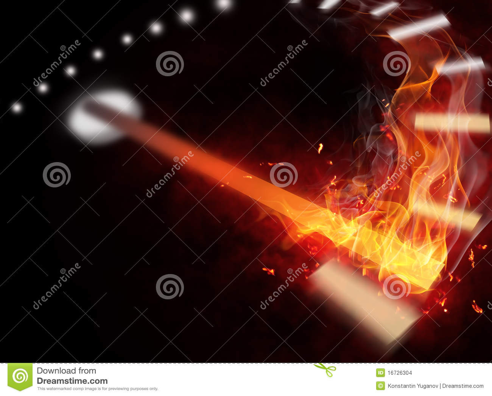 Velocímetro del fuego