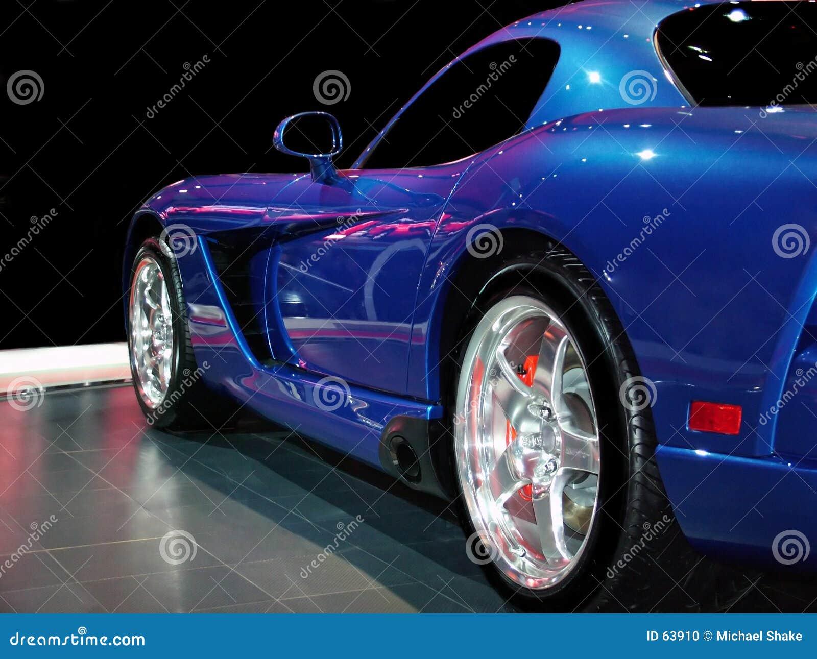 Velocidade azul!