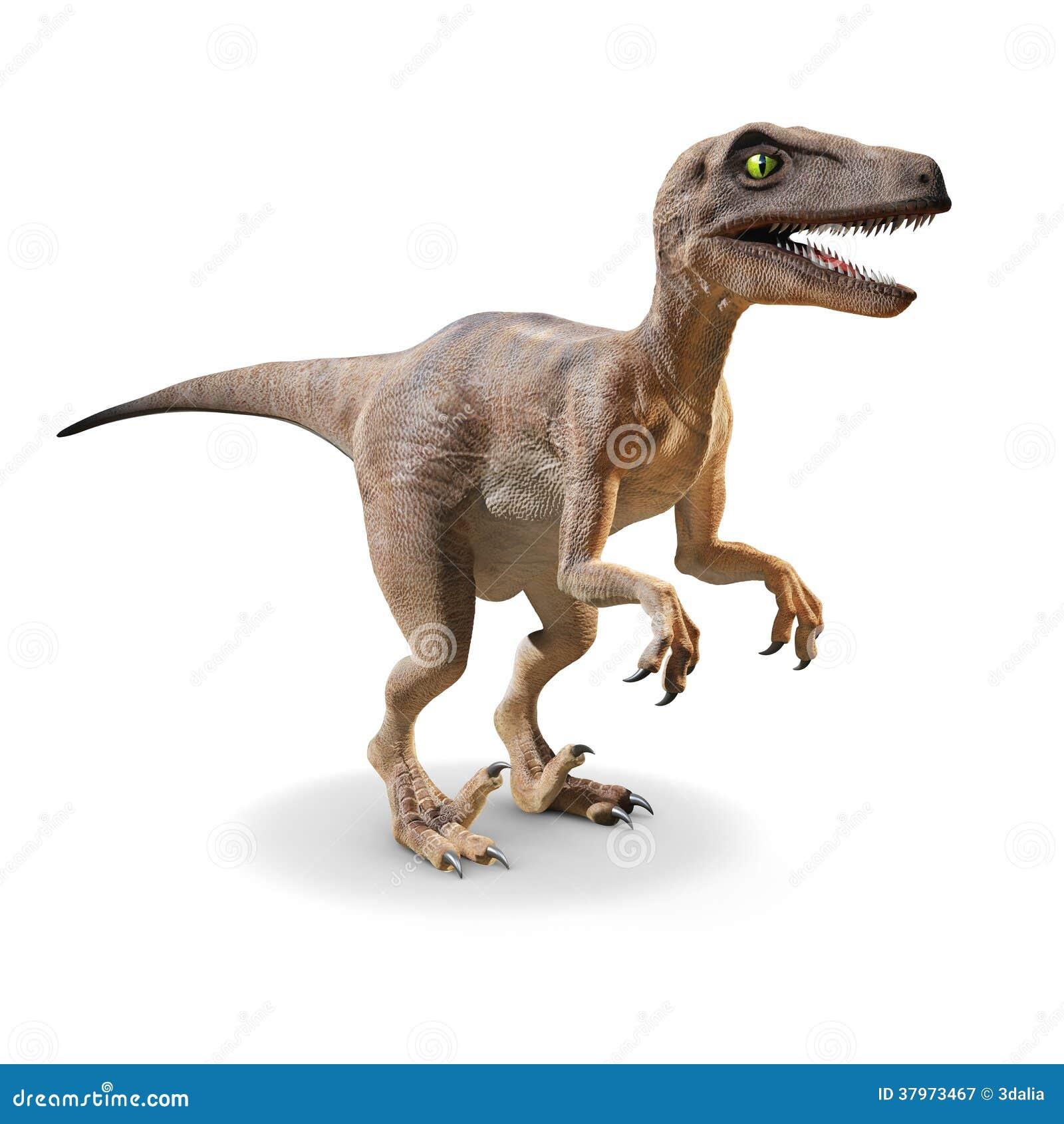 Velociraptor 3d Fotografia Stock Libera da Diritti - Immagine ...