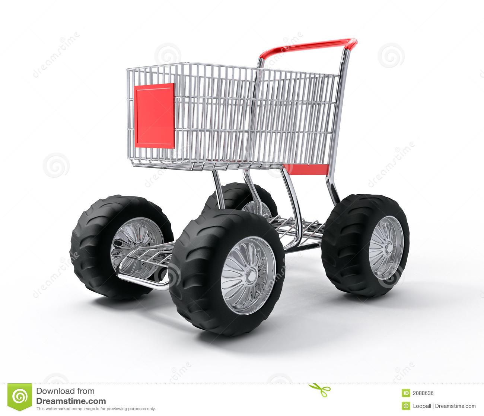 Velocità di tubo del carrello di acquisto