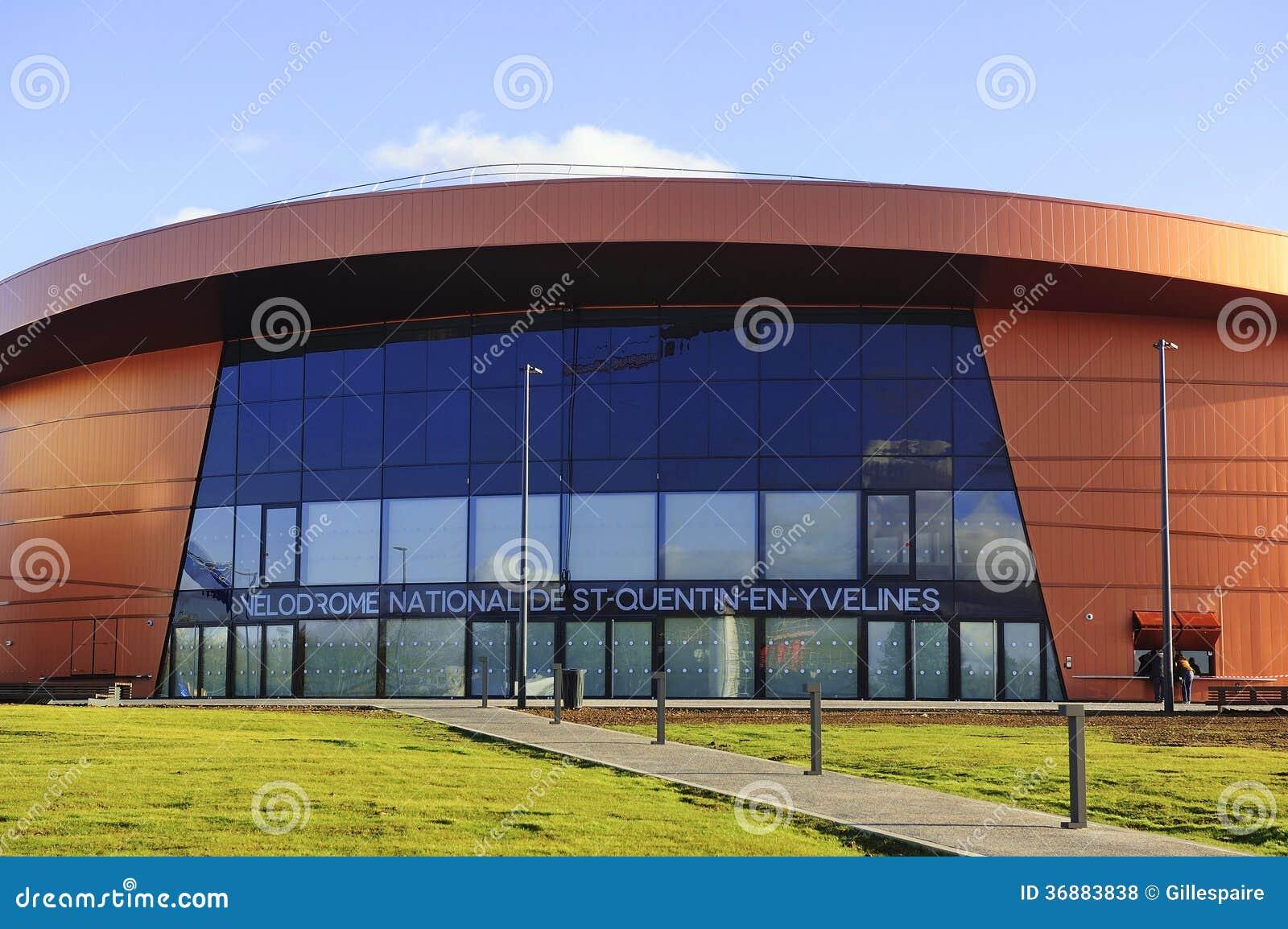 Download Velodromo Il San-Quentin-en-Yvelines Fotografia Stock Editoriale - Immagine di città, architettura: 36883838
