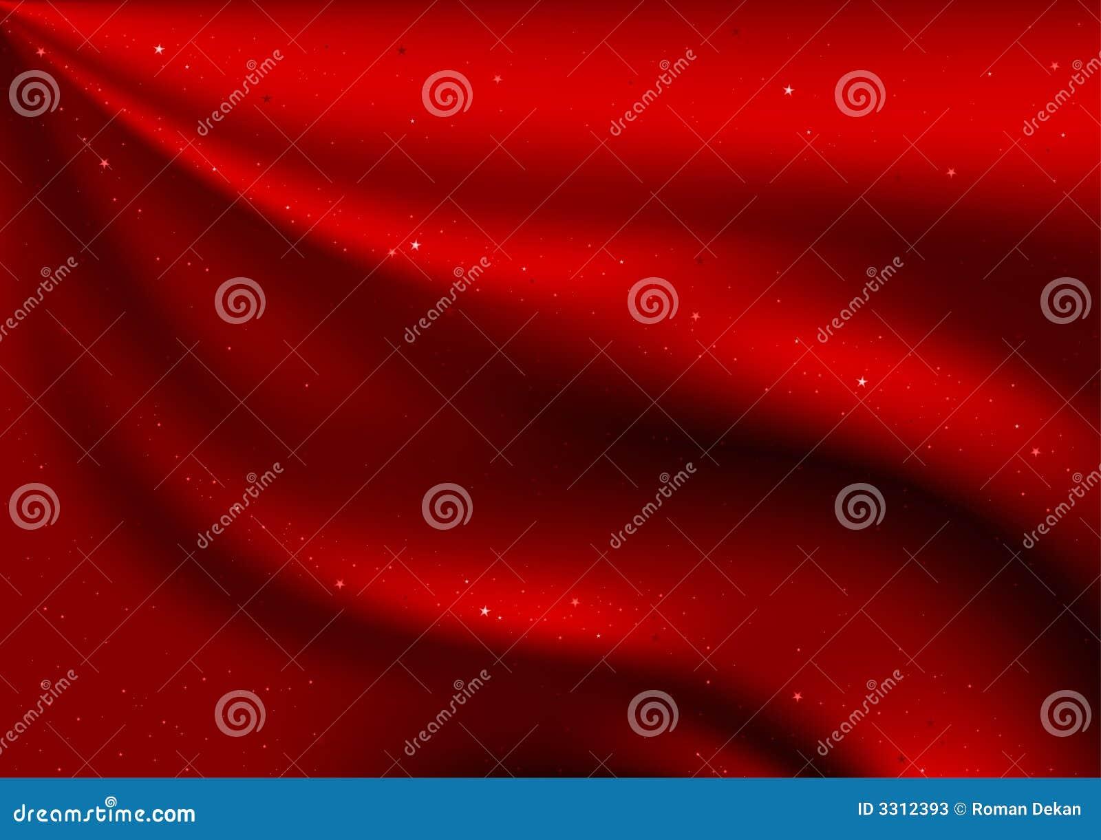 Velours et étoiles rouges