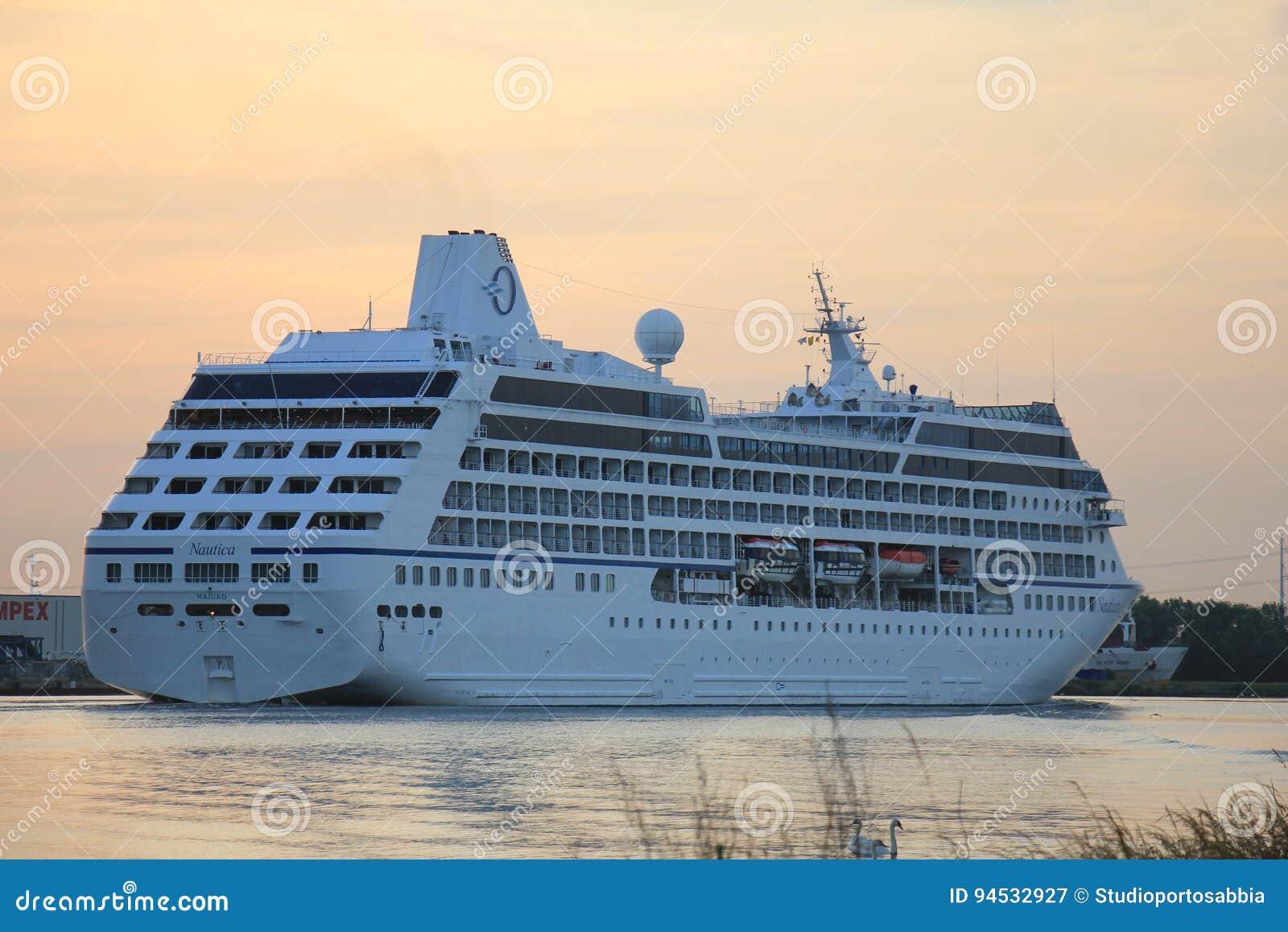 Velsen, Paesi Bassi - 15 giugno 2017: Nautica - crociere di Oceania