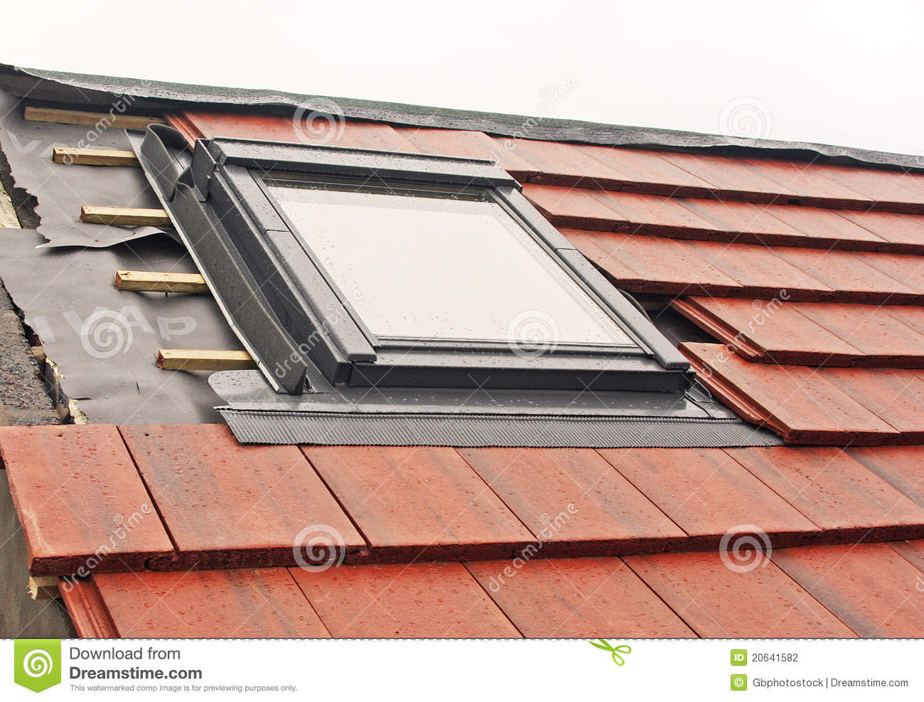 Velux Window Installation Stock Photo Image Of Conversion