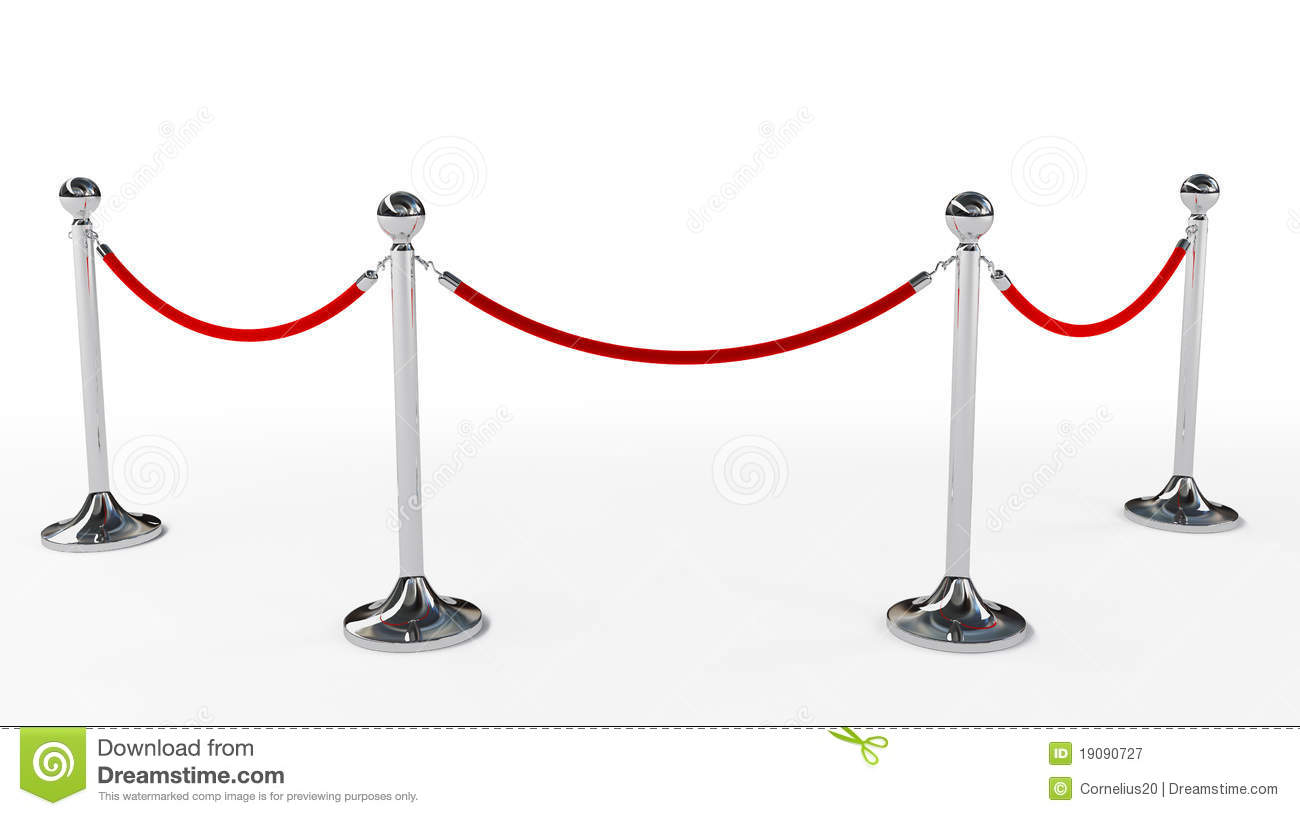 Velvet Rope Royalty Free Stock Photography - Image: 19090727