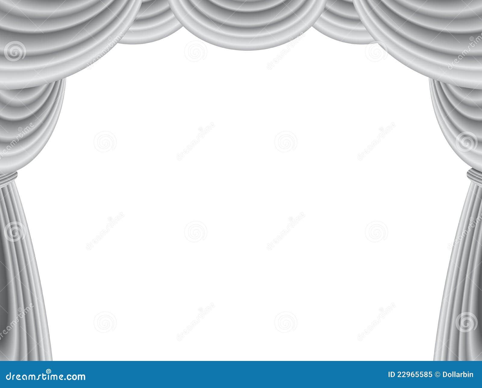 Black theatre curtain - Curtain Stage