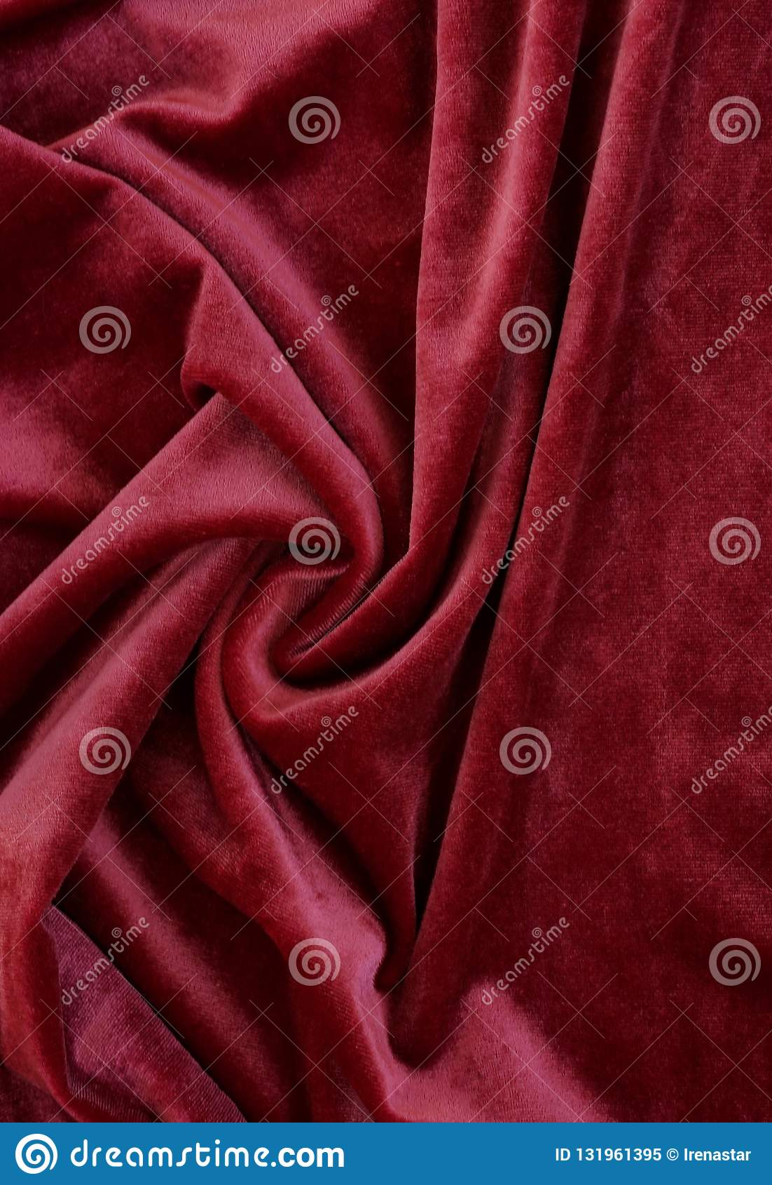Velvet Texture Background Red Color. Christmas Festive ...