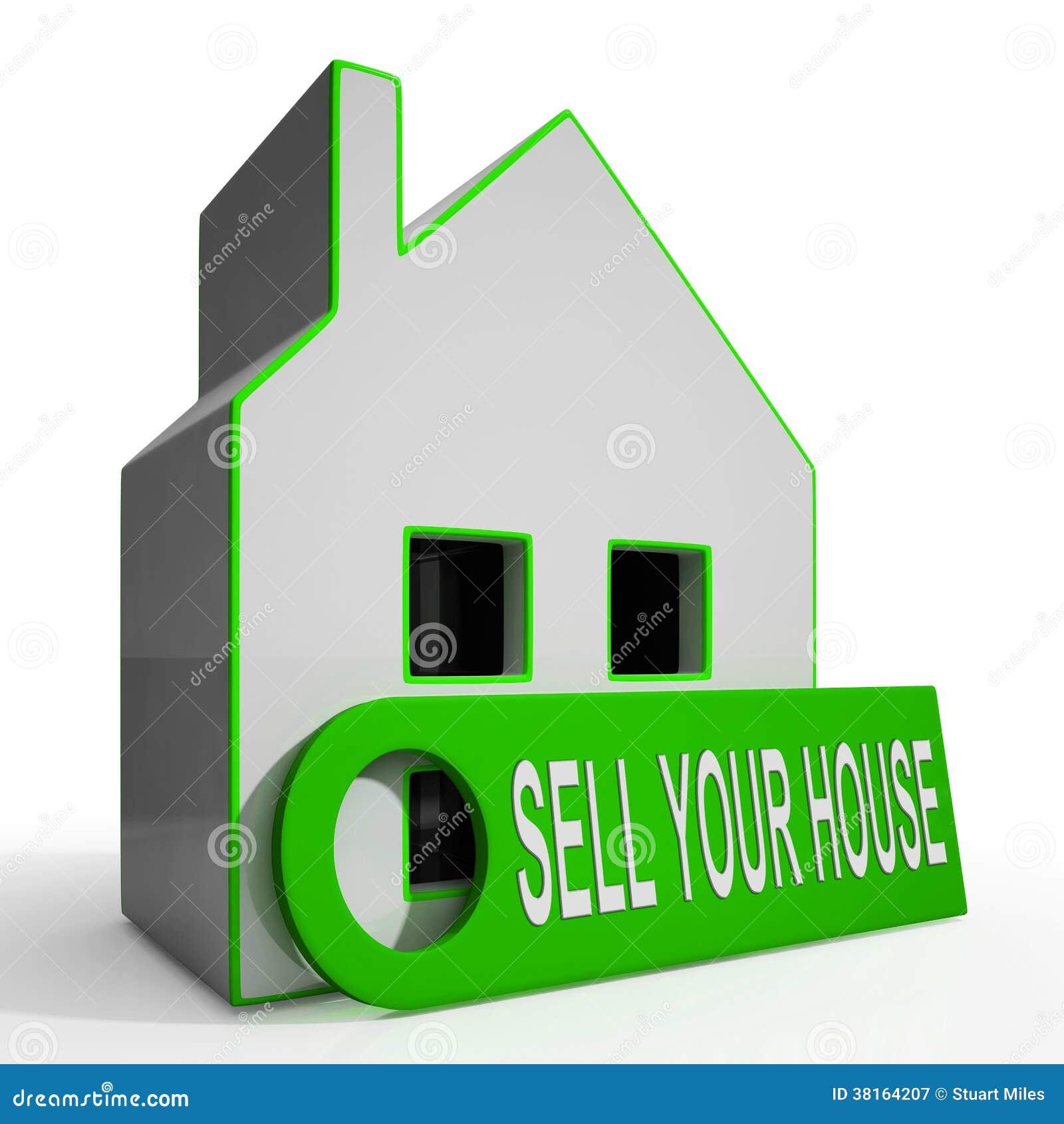 Venda su propiedad q disponible de los medios del hogar de la casa