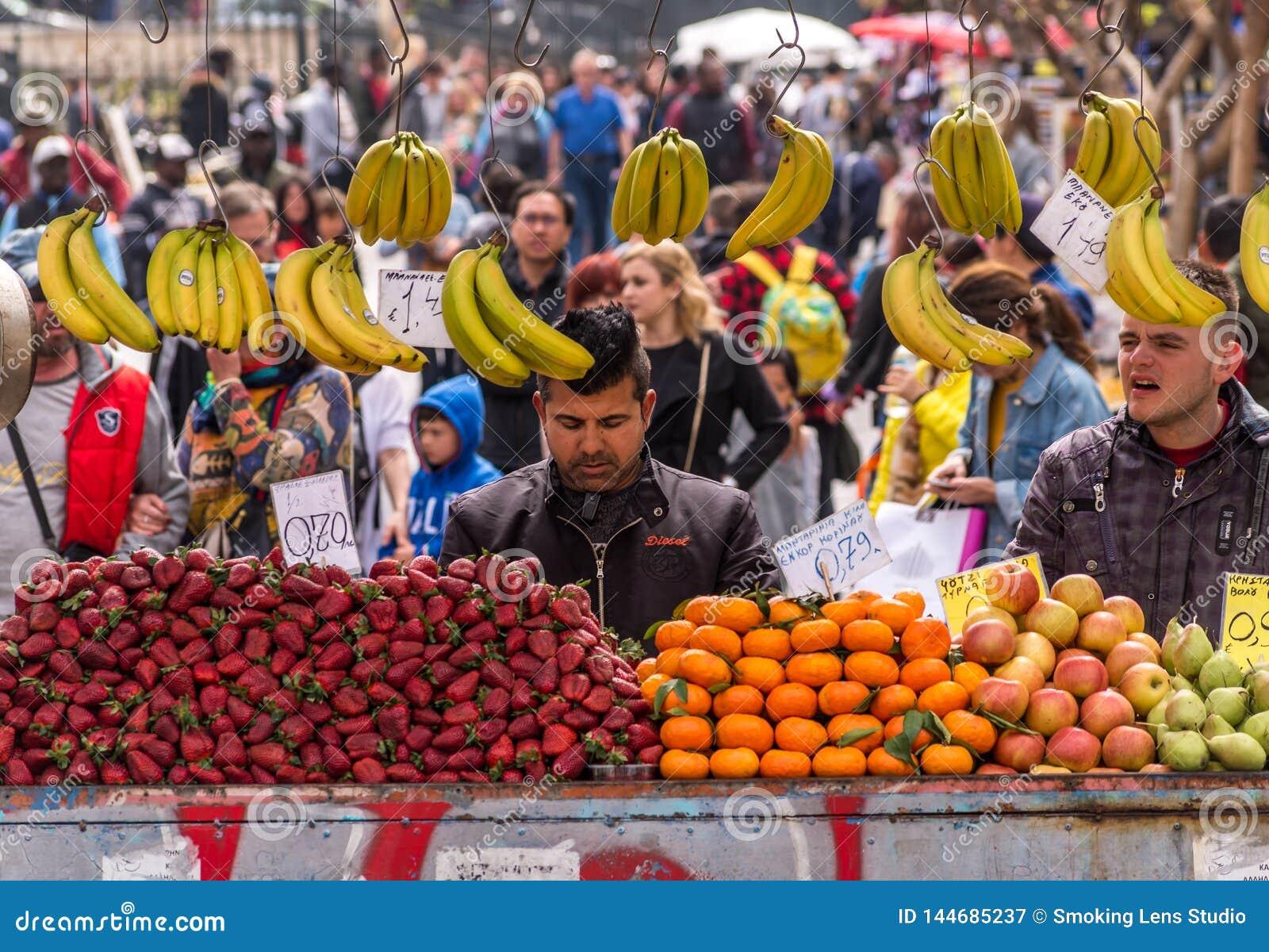 Vendedor do fruto