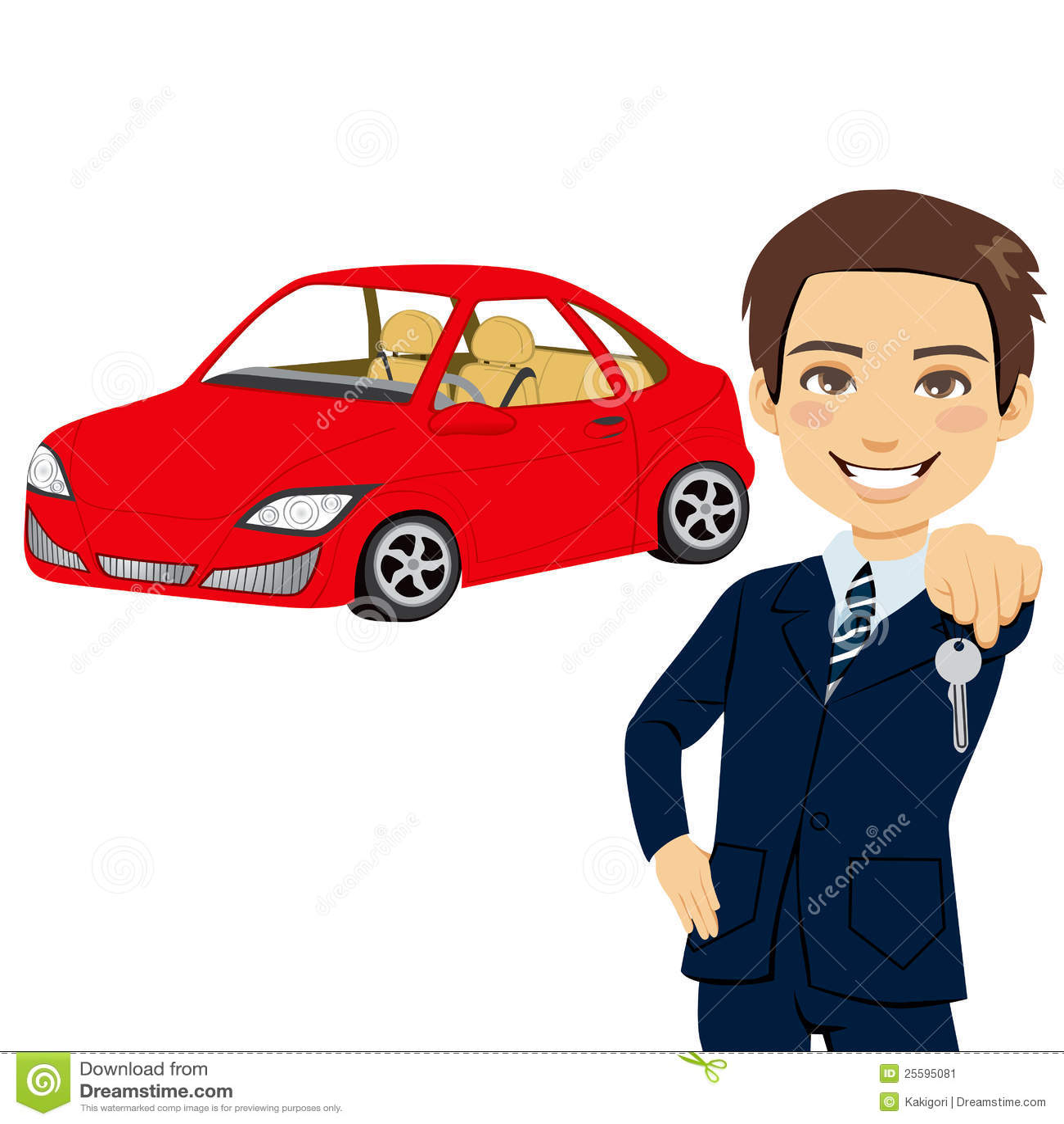 vendedor joven del autom u00f3vil ilustraci u00f3n del vector businessman clipart black and white businessman clipart black & white