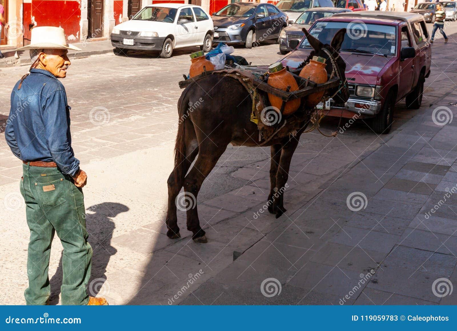 Vendedores ambulantes em Zacatecas México