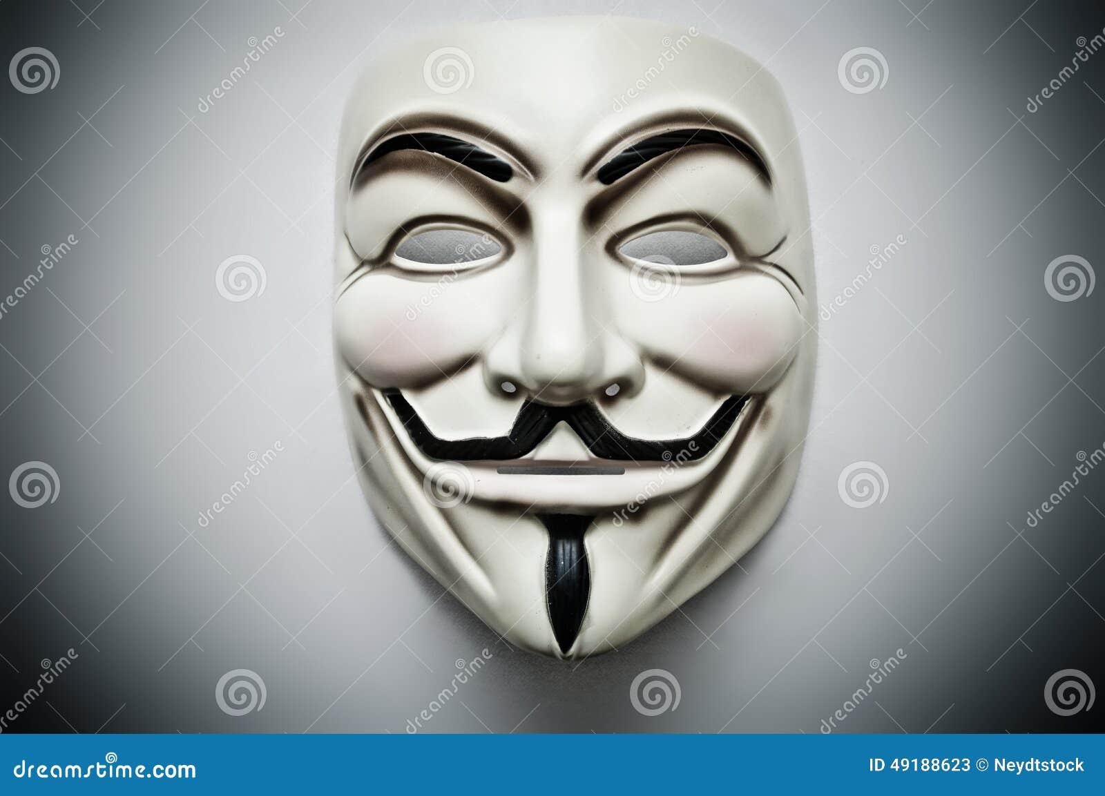 Vendetta Mask Editorial Stock Photo - Image: 49188623