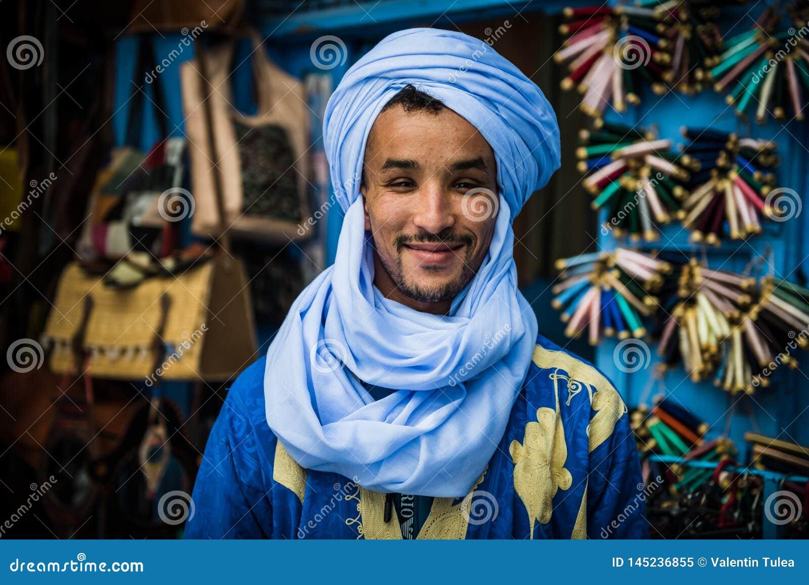 Vendeur de Marrakech Souk